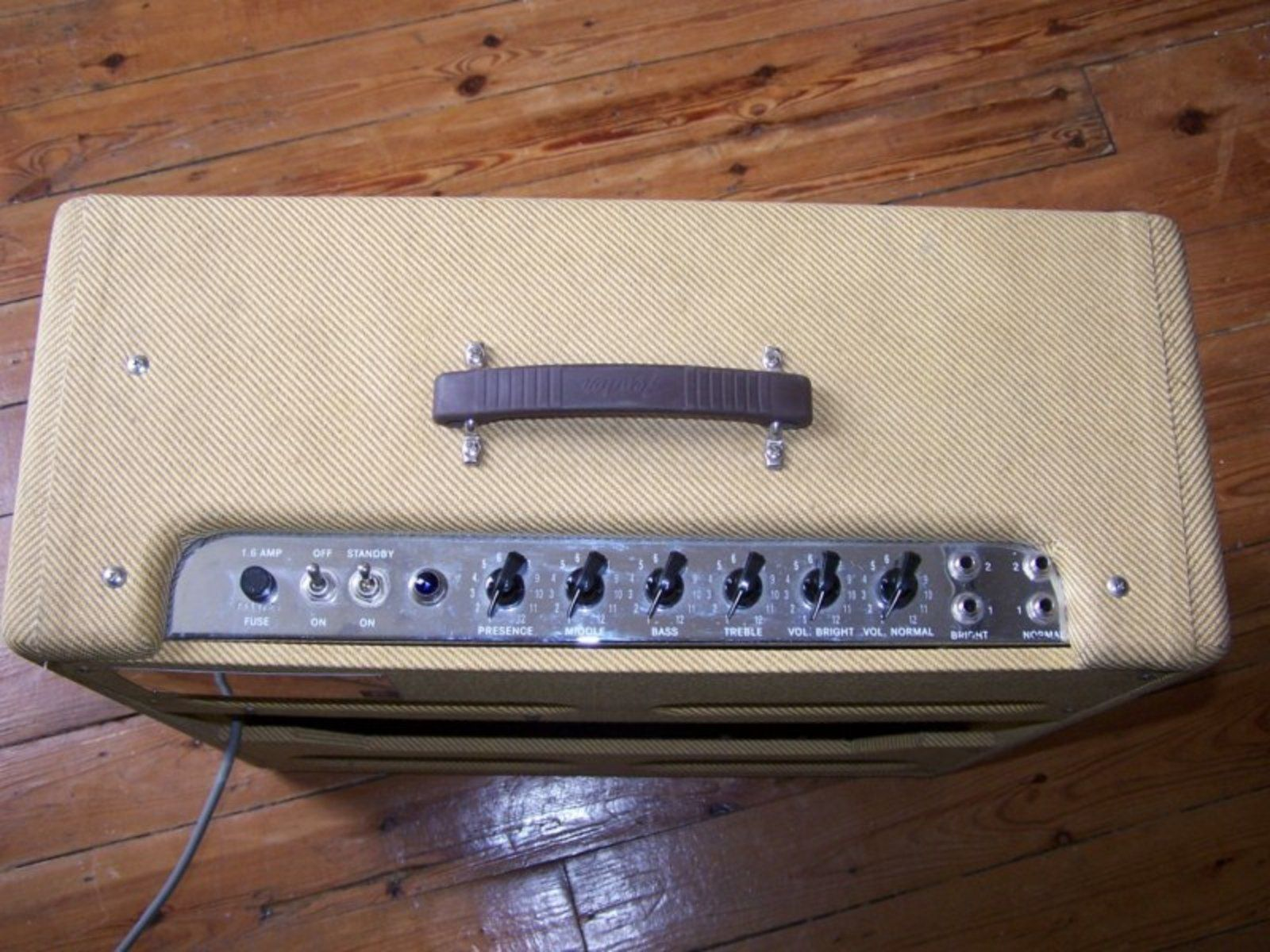 fender vintage reissue 39 59 bassman ltd image 8344 audiofanzine. Black Bedroom Furniture Sets. Home Design Ideas