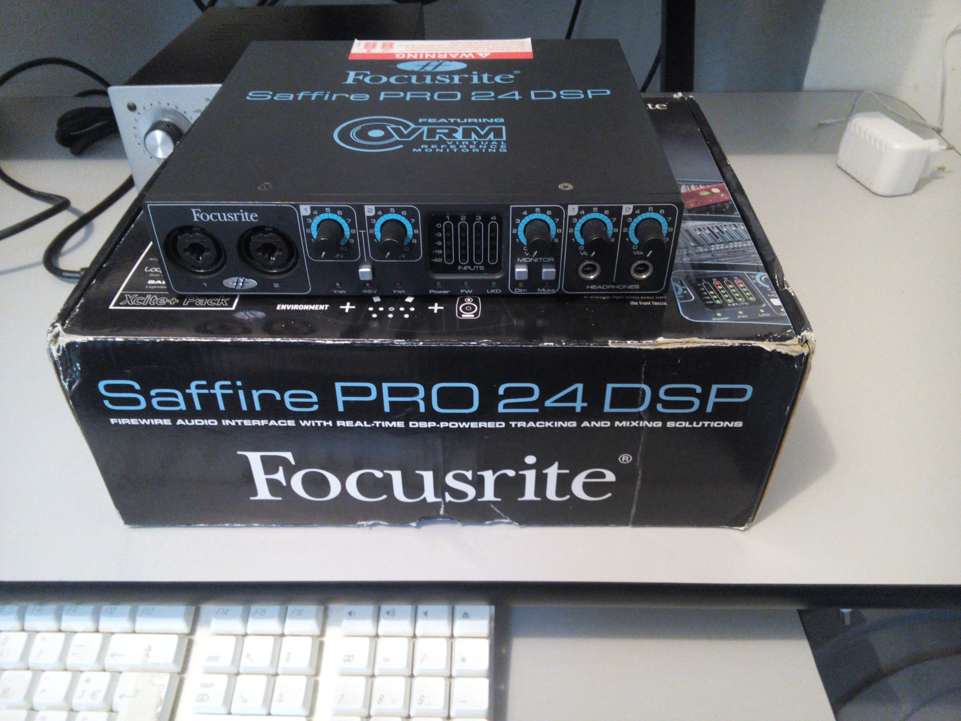 focusrite saffire pro 24 dsp manual