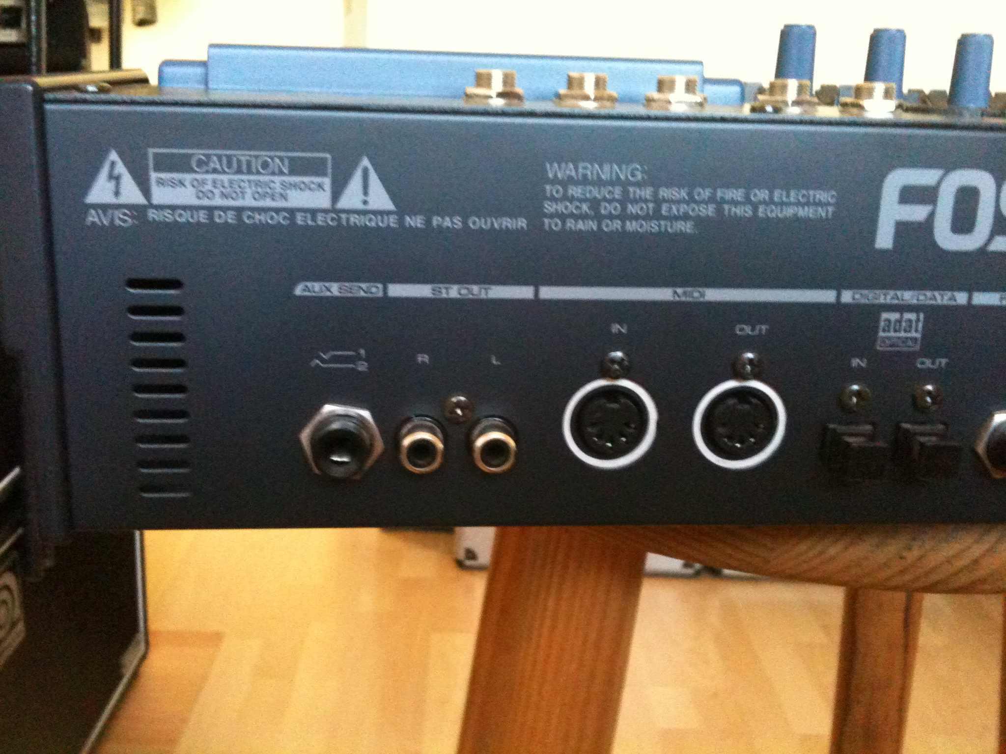 fostex vf160 image 132104 audiofanzine rh en audiofanzine com Fostex VF80EX Digital Multitracker Fostex VF160EX Review