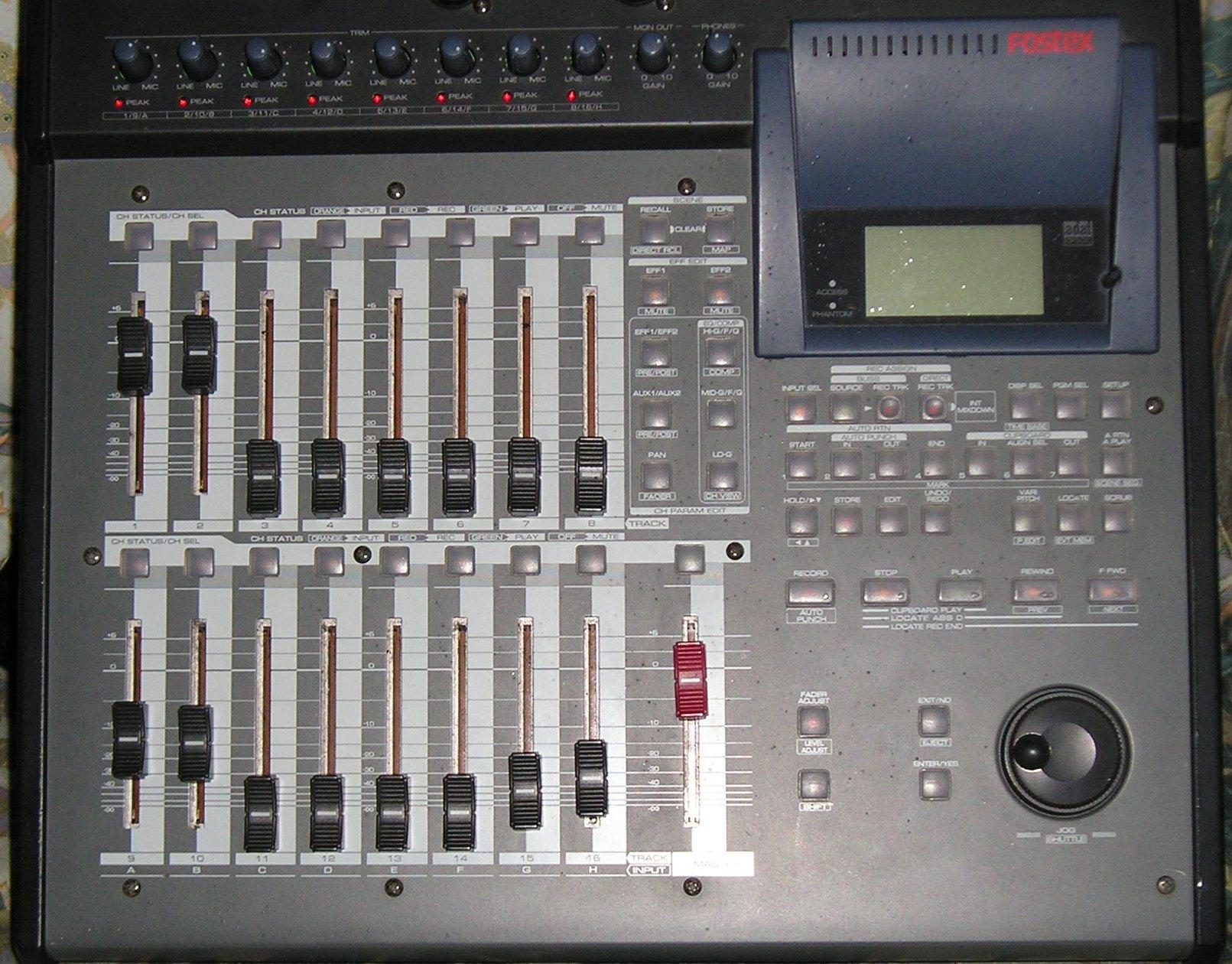 fostex vf160 image 380375 audiofanzine rh en audiofanzine com Fostex VF160EX Hard Drive Fostex VF160 Manual