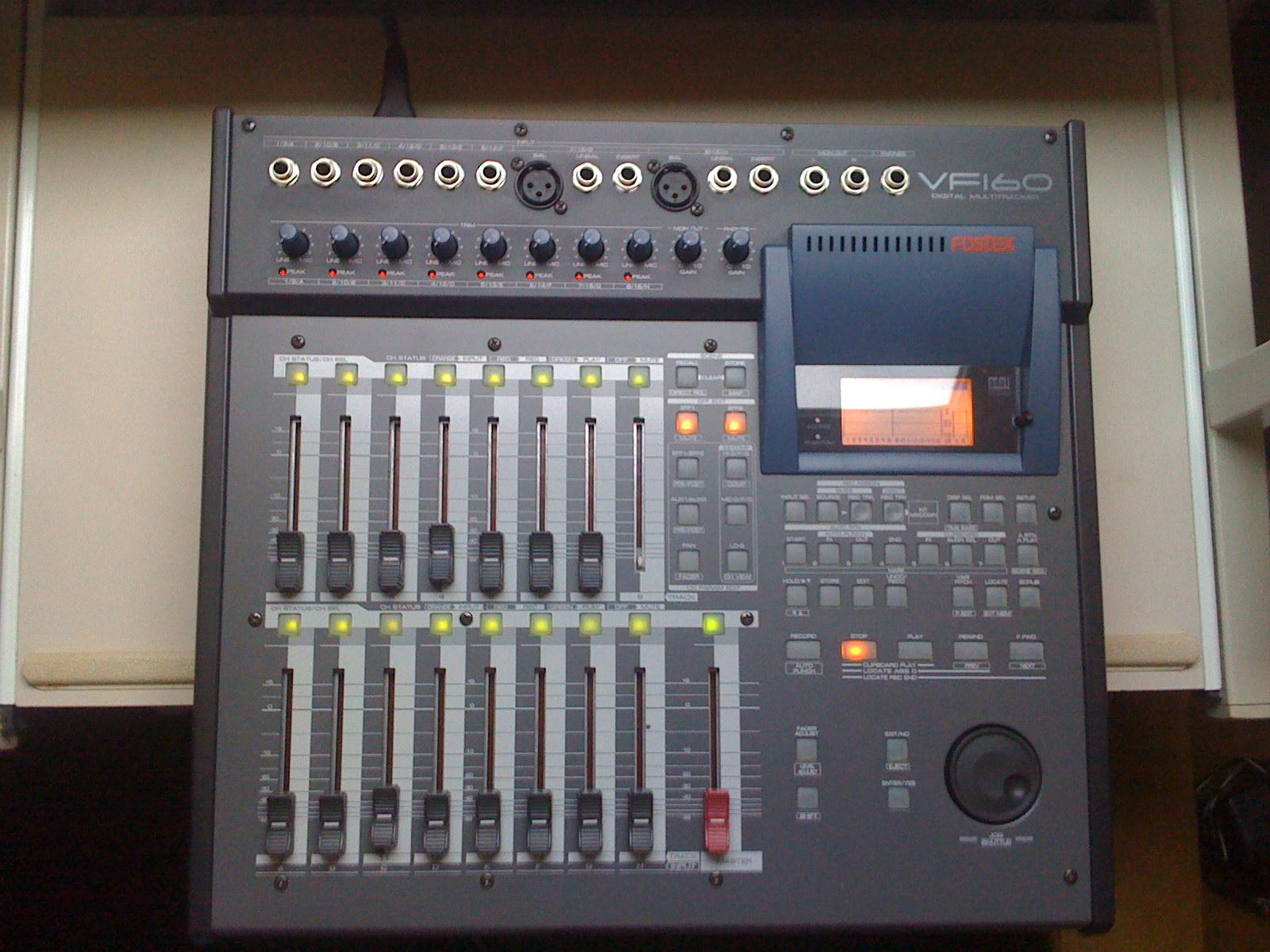 fostex vf160 cd image 698579 audiofanzine rh en audiofanzine com Fostex Digital Recorder Fostex VF160EX Hard Drive