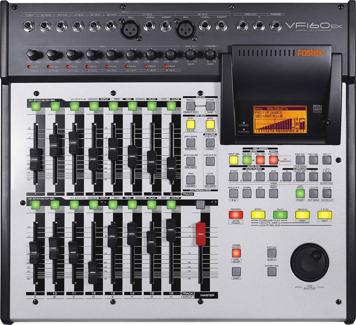fostex vf160ex image 307871 audiofanzine rh en audiofanzine com Fostex Multitracker 160 Fostex Digital Recorder