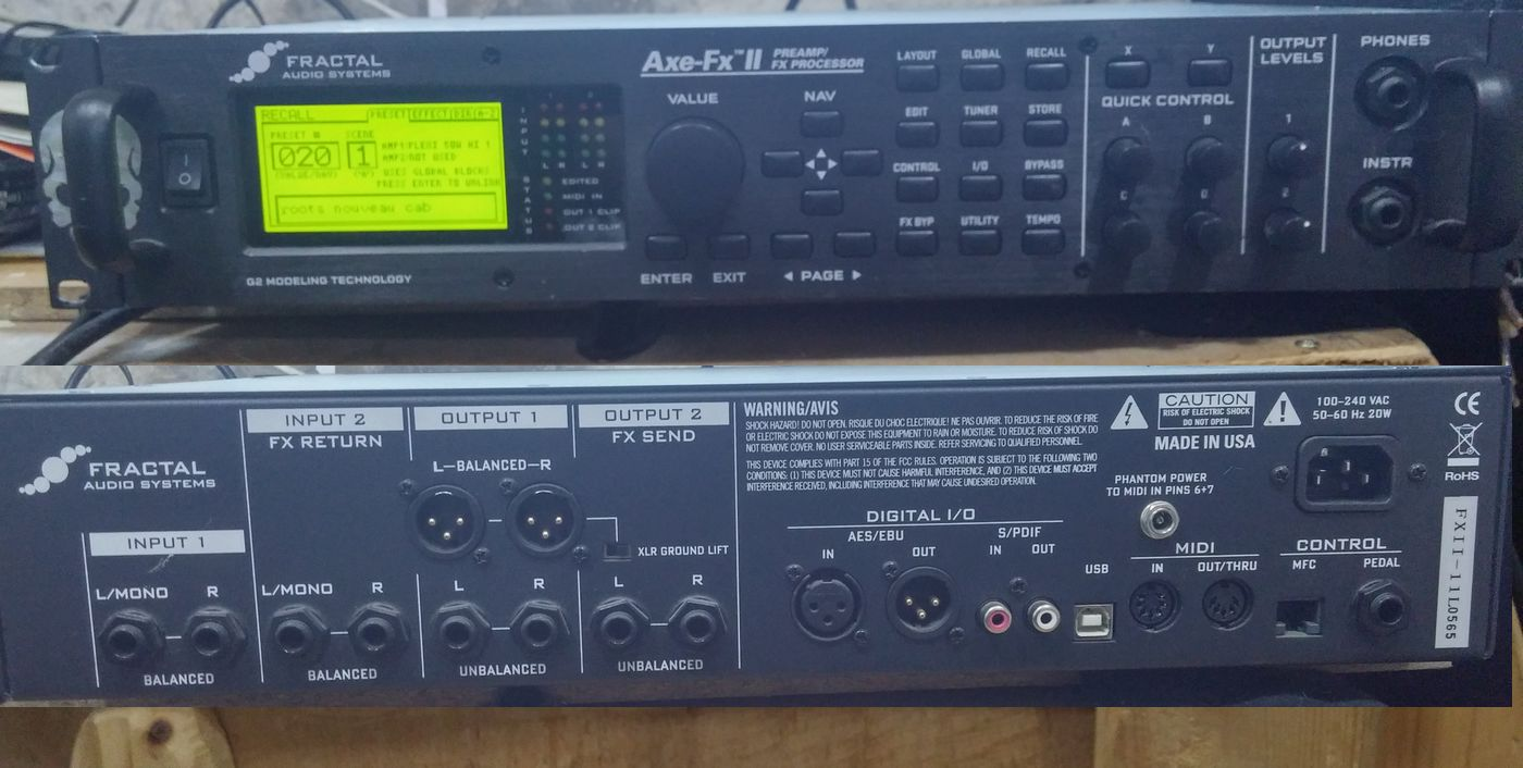 Fractal Audio Systems Axe-Fx II image (#1527678