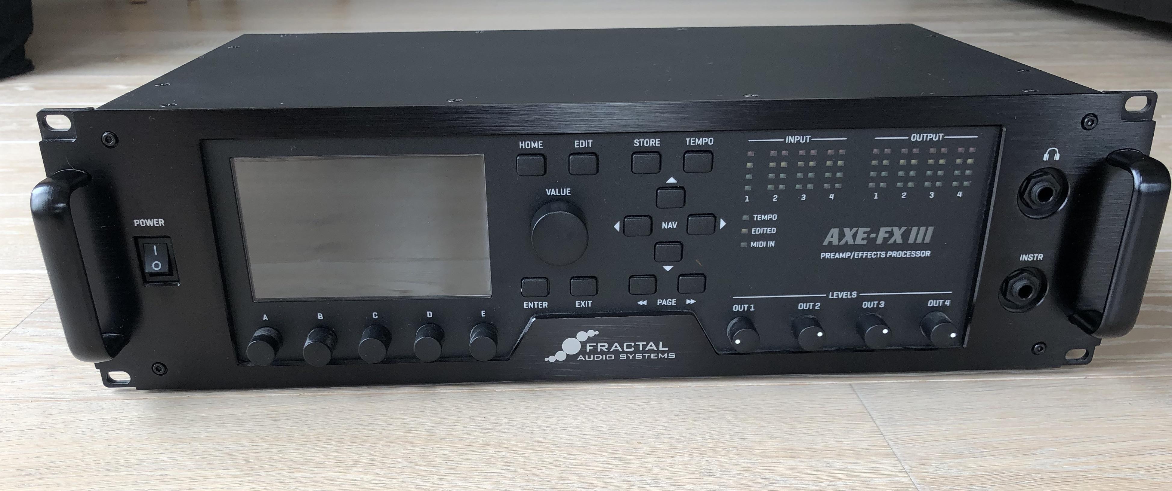 AXE-FX III - Fractal Audio Systems Axe-Fx III - Audiofanzine