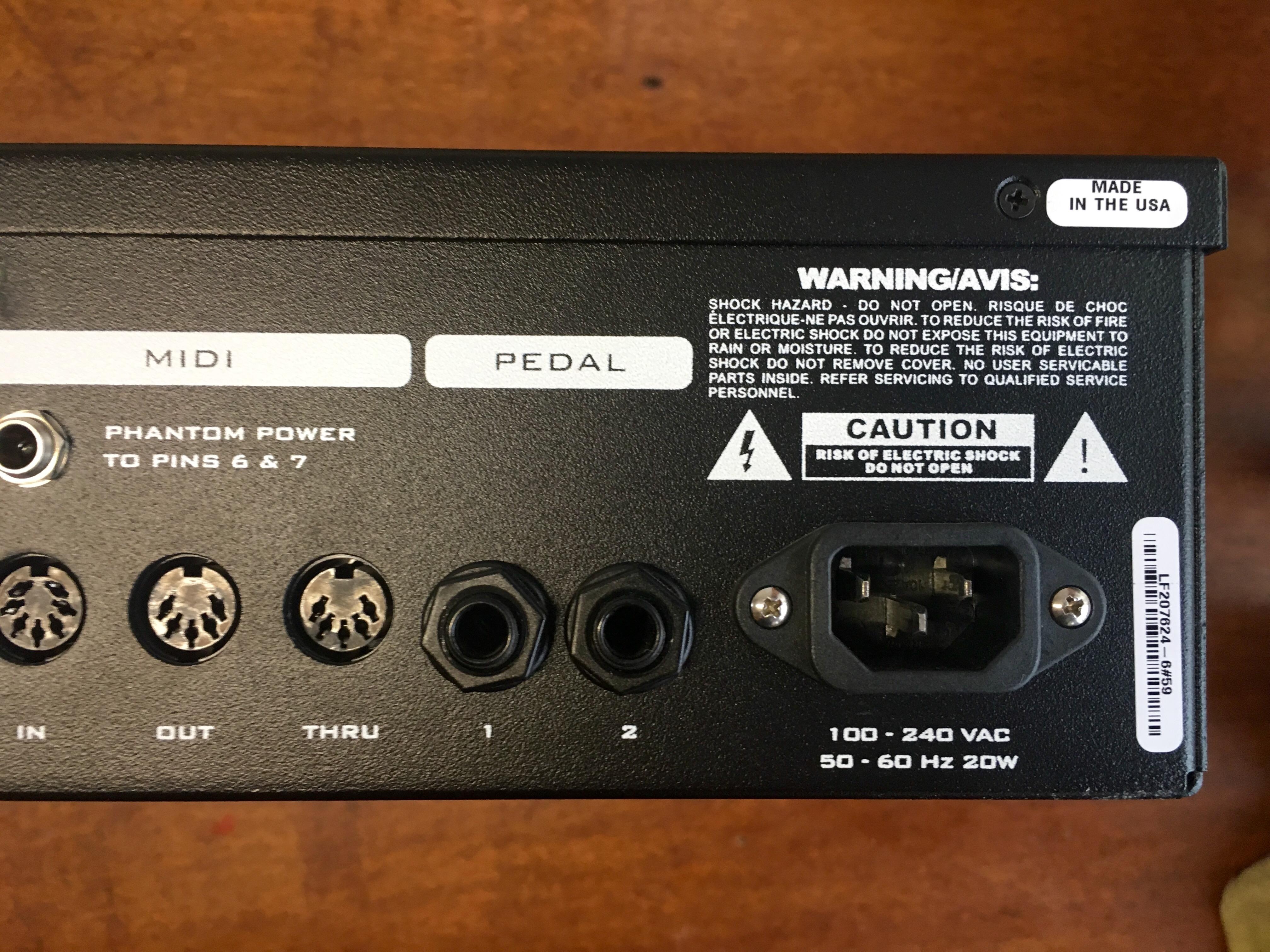 Photo Fractal Audio Systems Axe-Fx Ultra : Fractal Audio