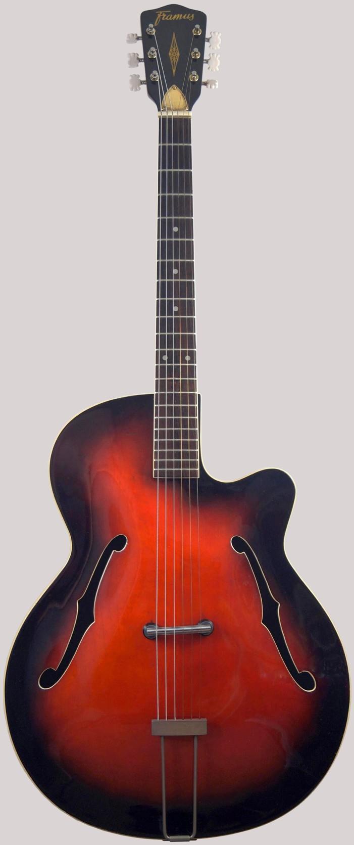 Framus 5 54 Riviera german Archtop Guitar