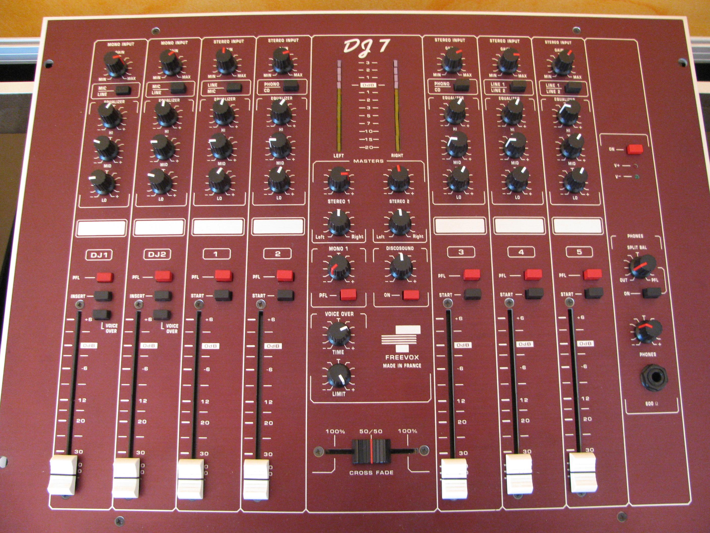 table de mixage freevox a vendre