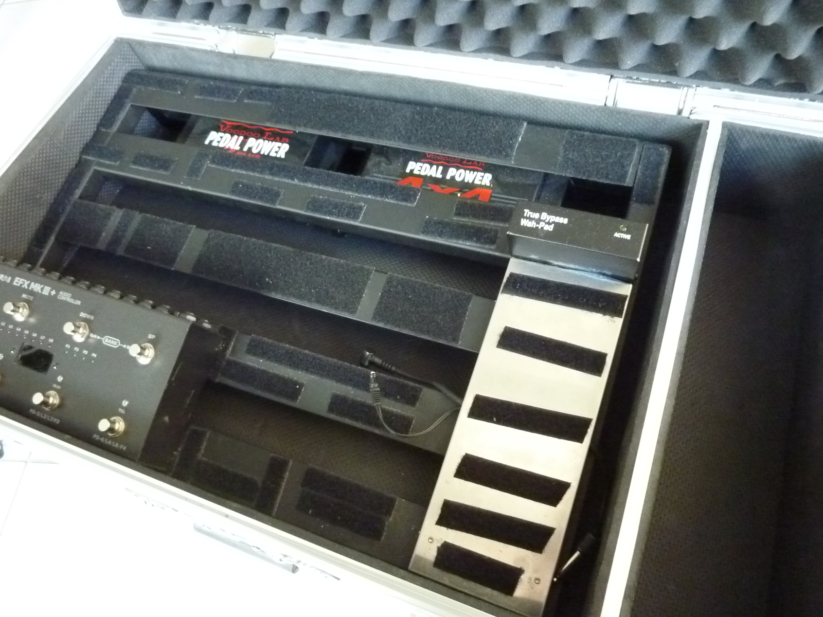 EASY Cry Baby Wah True Bypass Switch Mod -