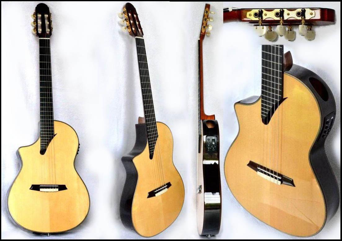 guitare classique caisse fine