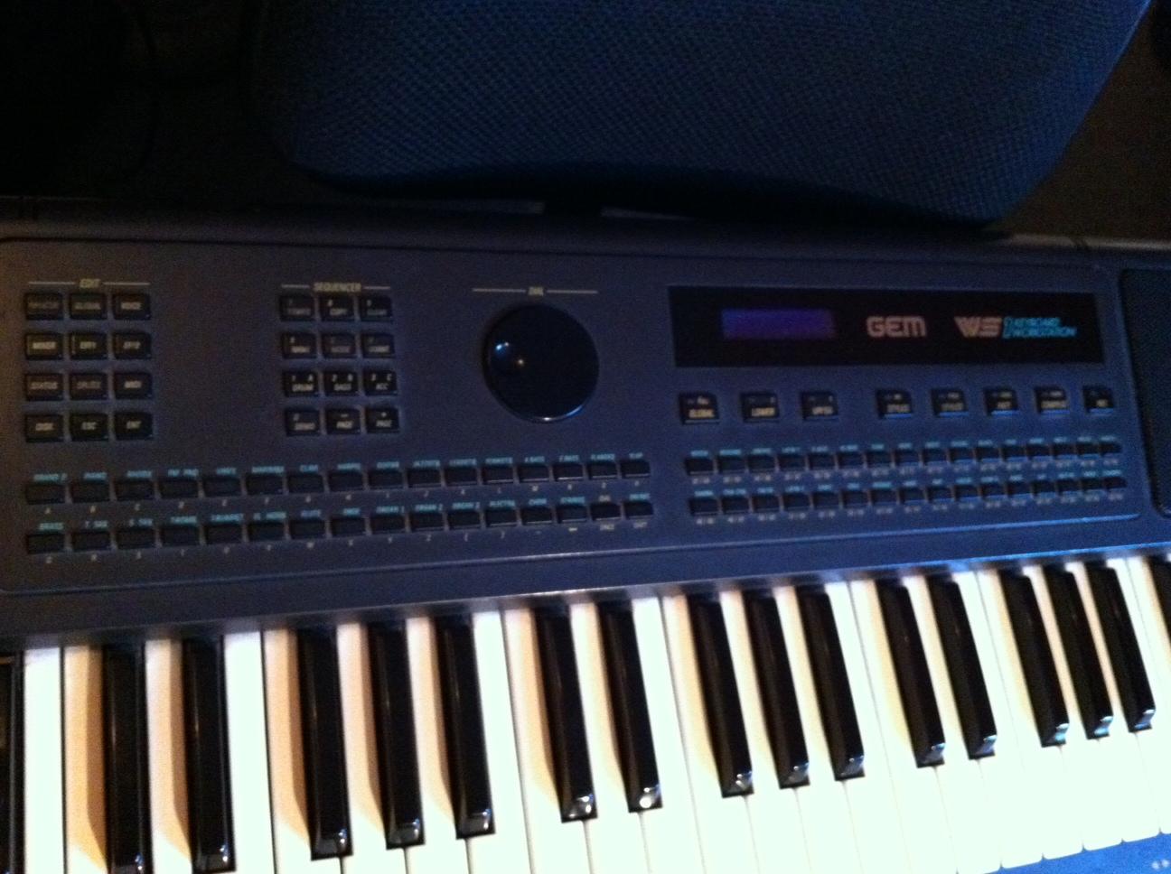 Gem Ws1 Keyboard Workstation Manual