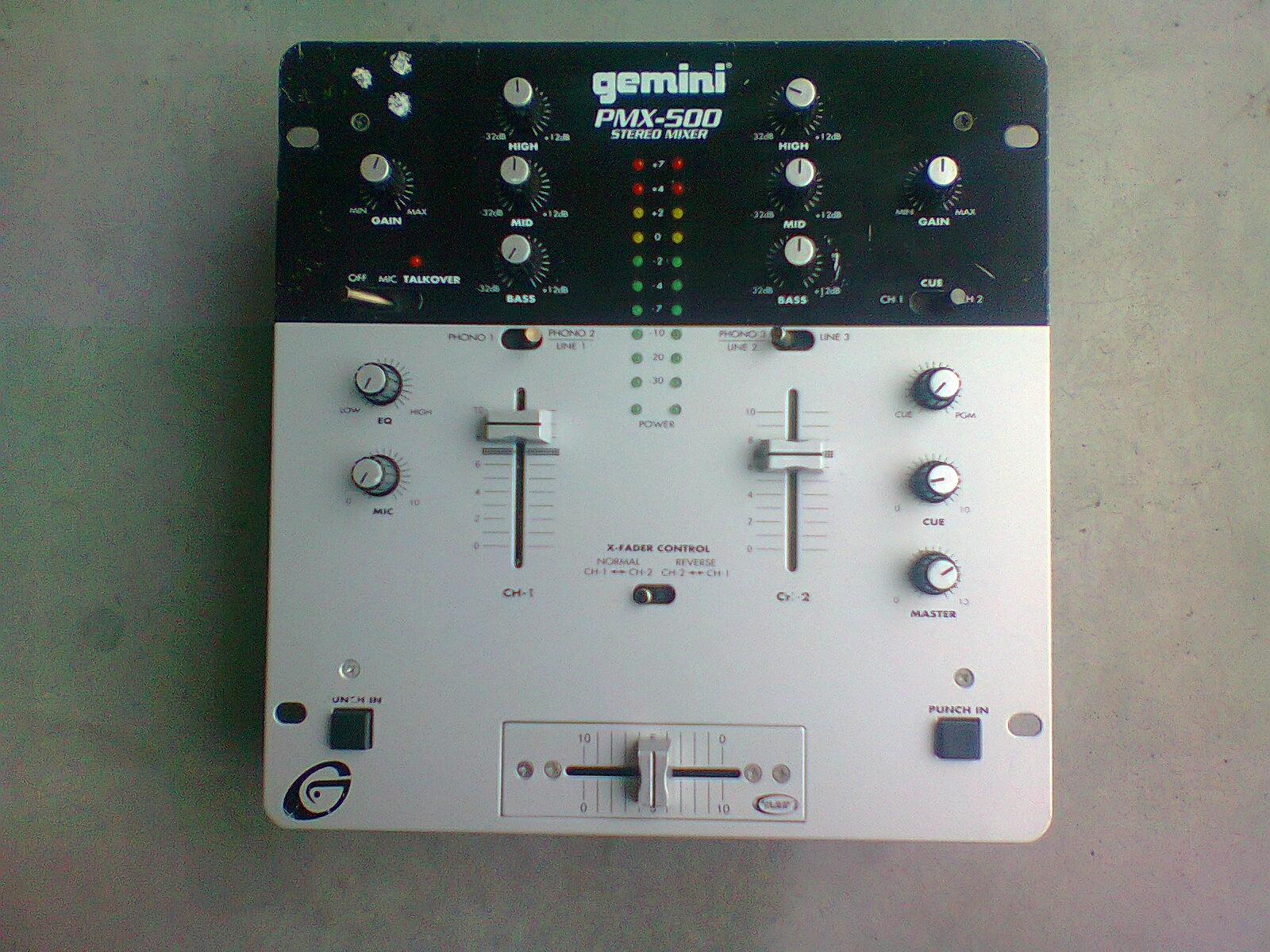 Pmx 500 Gemini Dj Pmx 500 Audiofanzine