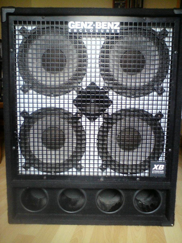 Genz-Benz GB 410-XB2 image (#74022) - Audiofanzine