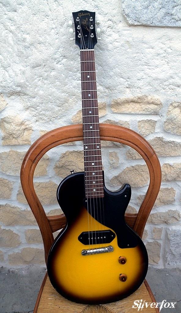 gibson 1957 les paul jr single cut vos vos vintage sunburst image 699622 audiofanzine. Black Bedroom Furniture Sets. Home Design Ideas