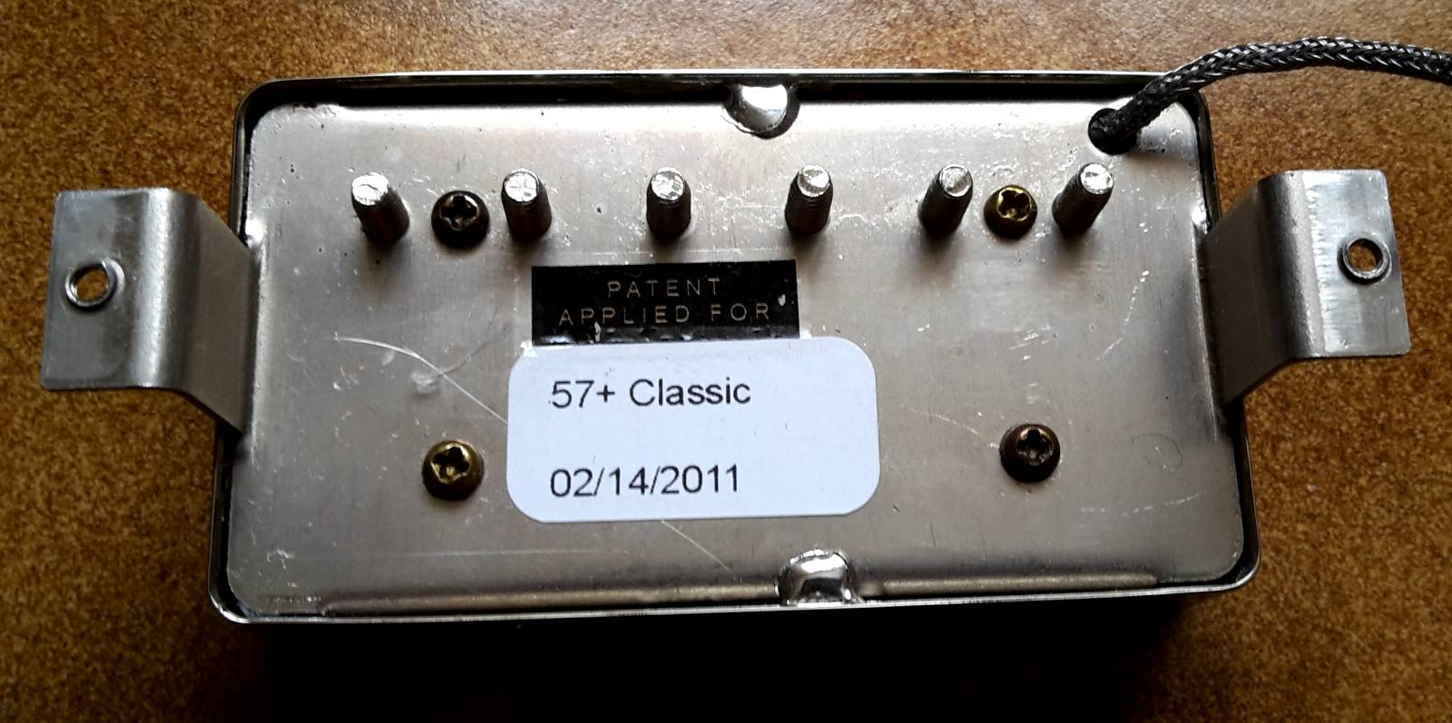gibson classic 57 plus nickel cover bandit84_christophe images