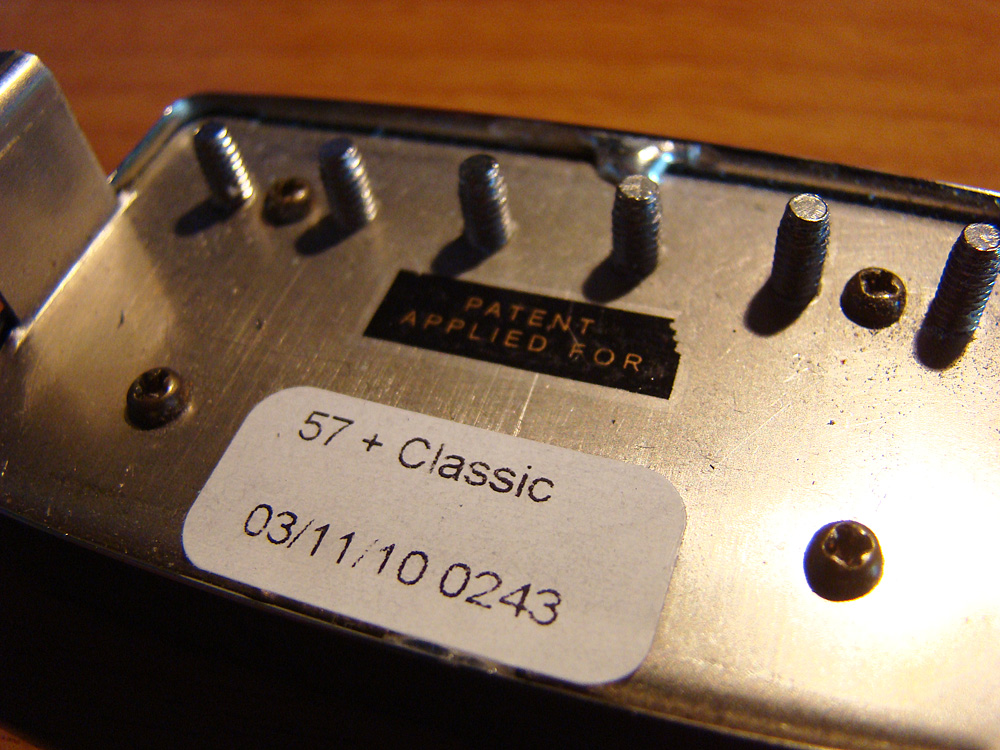 gibson classic 57 plus nickel
