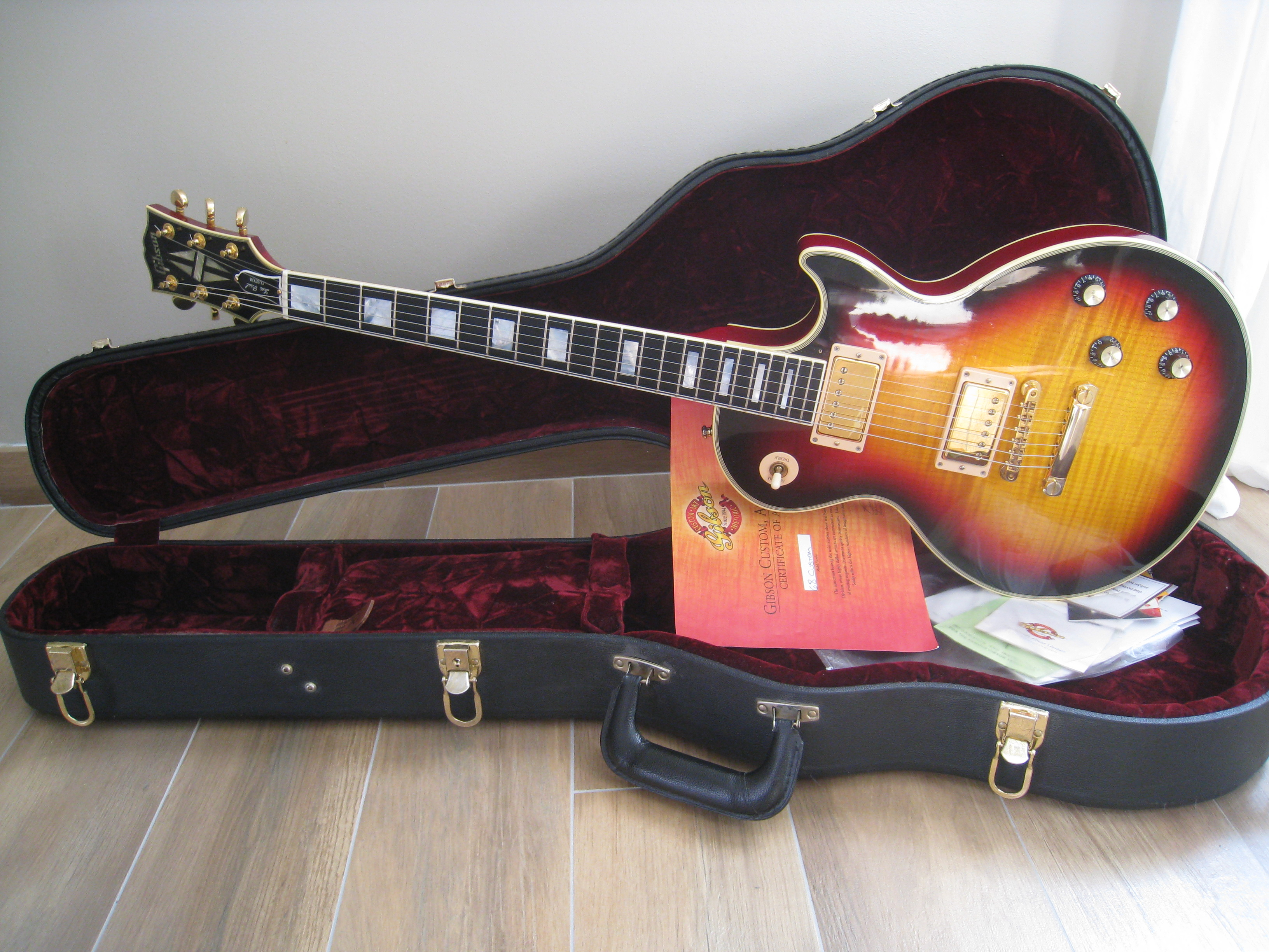 gibson dating custom shop