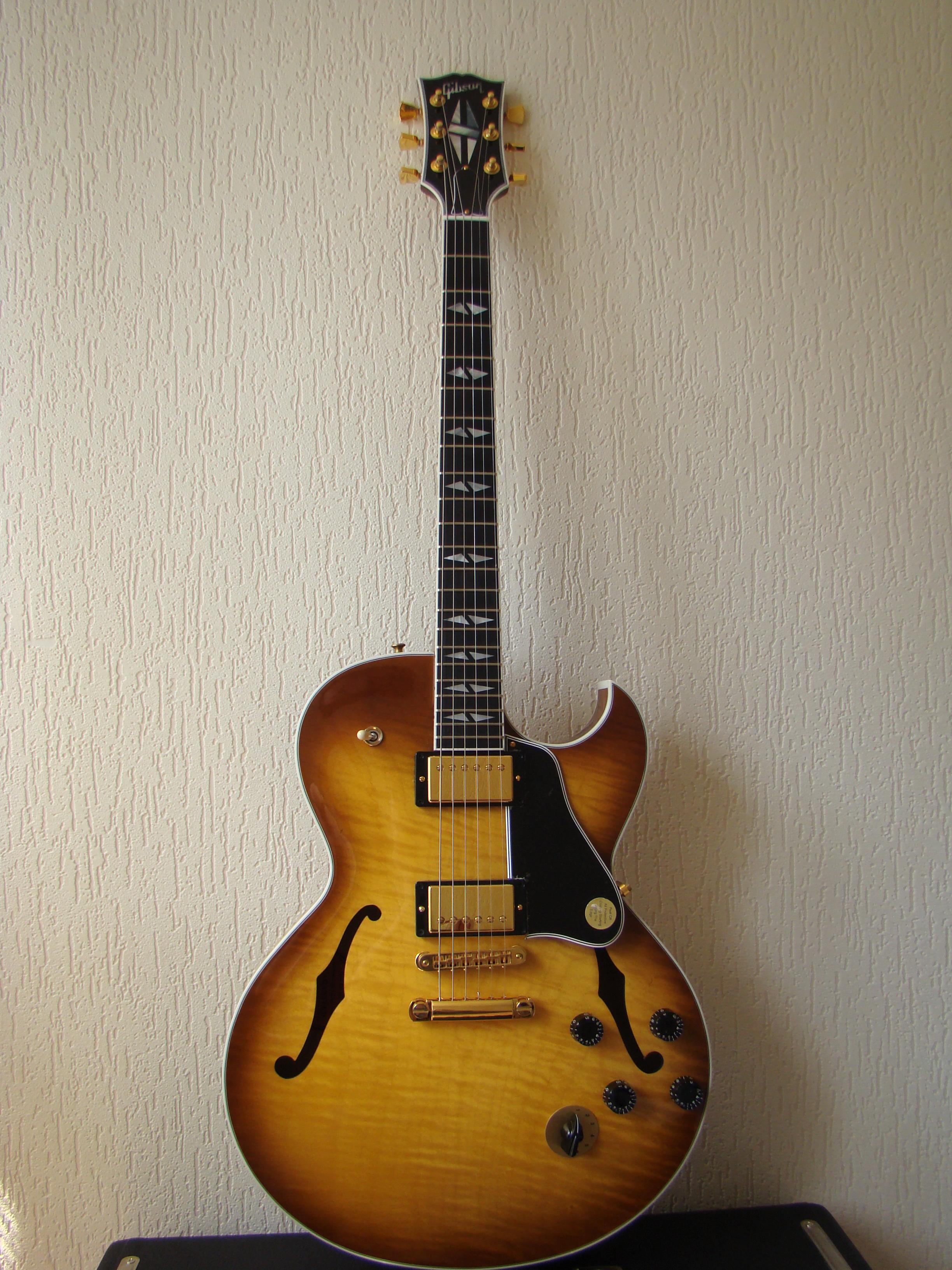 Wondrous Gibson Es 137 Classic Chrome Hardware Light Burst Image 418297 Largest Home Design Picture Inspirations Pitcheantrous