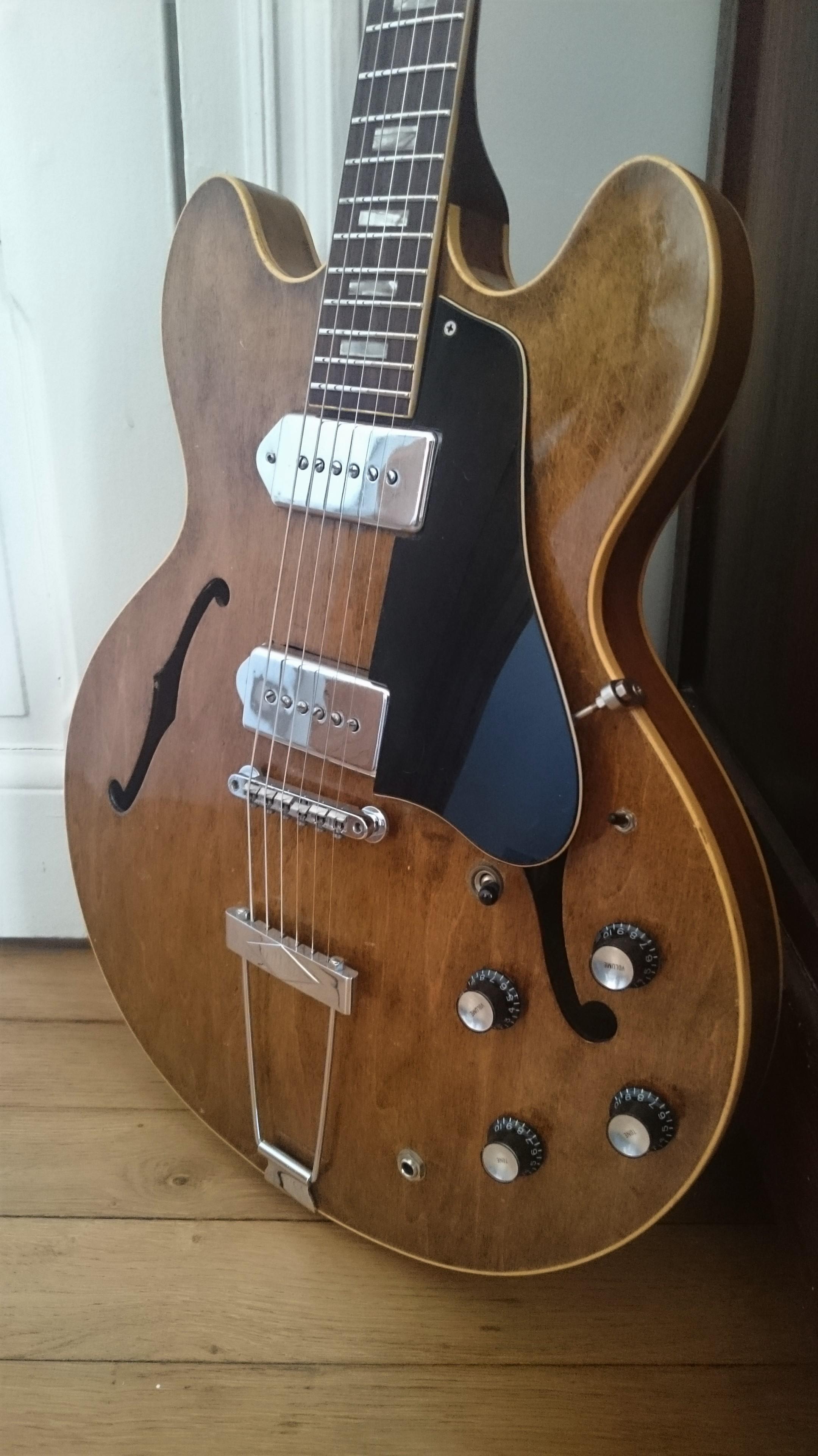 gibson semi-hollow 1961 es-330 vos vb guitare electrique