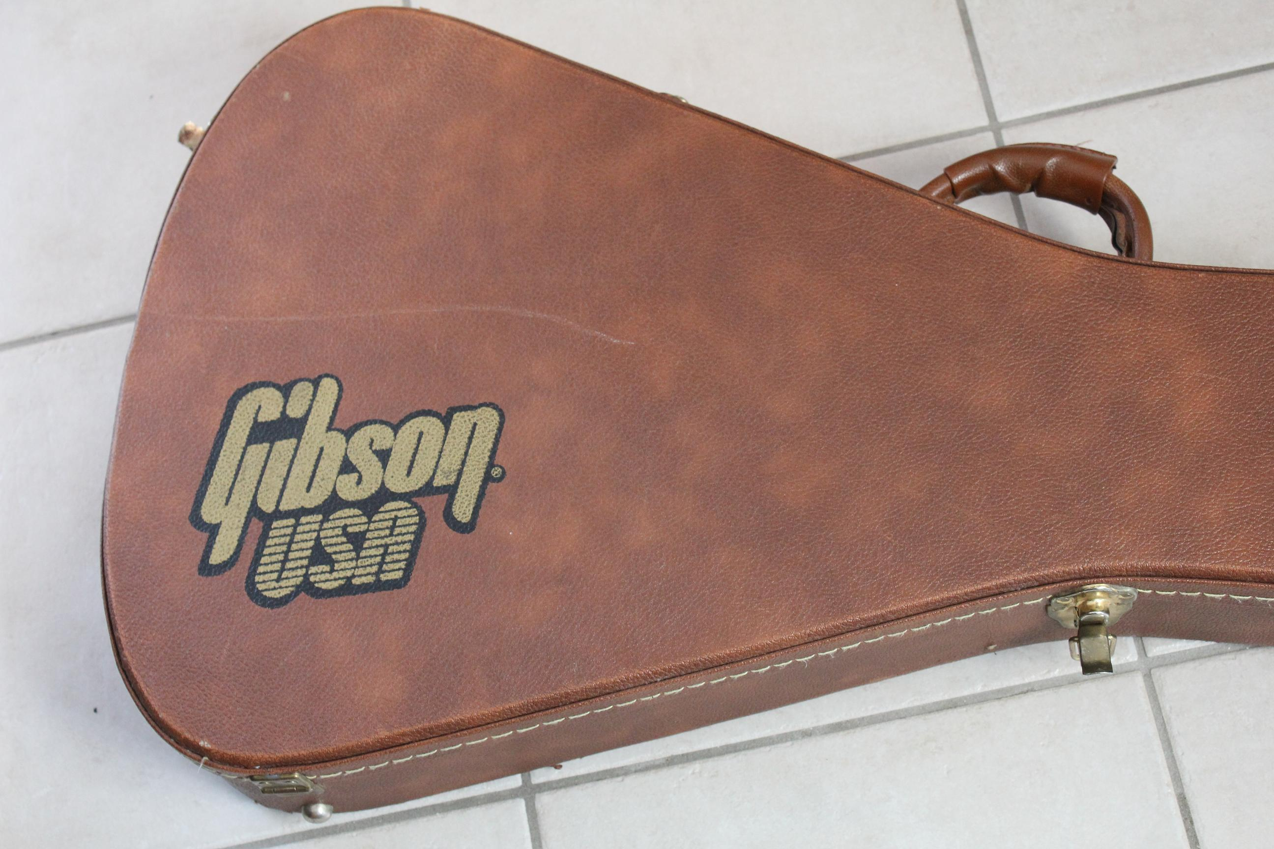 Gibson Flying V Case : gibson flying v hardshell case image 288381 audiofanzine ~ Hamham.info Haus und Dekorationen