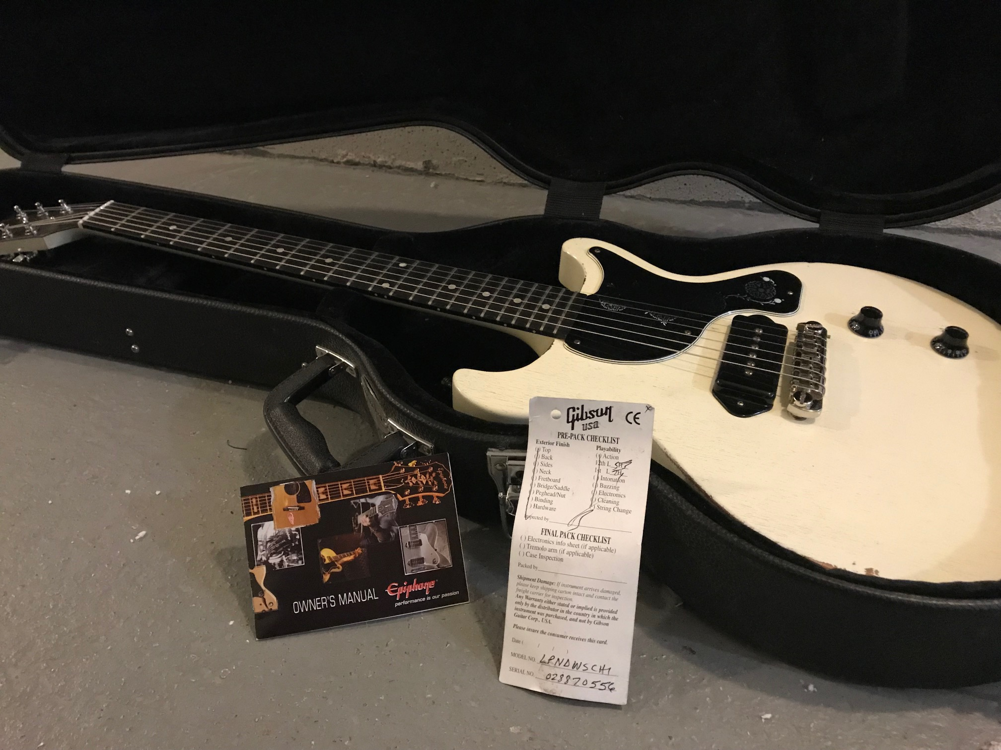 Gibson Nashville Les Paul Junior Guitar of the Week 2007 Satin
