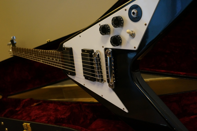 Gibson Kirk Hammett Flying V - Aged image (#759096 ...