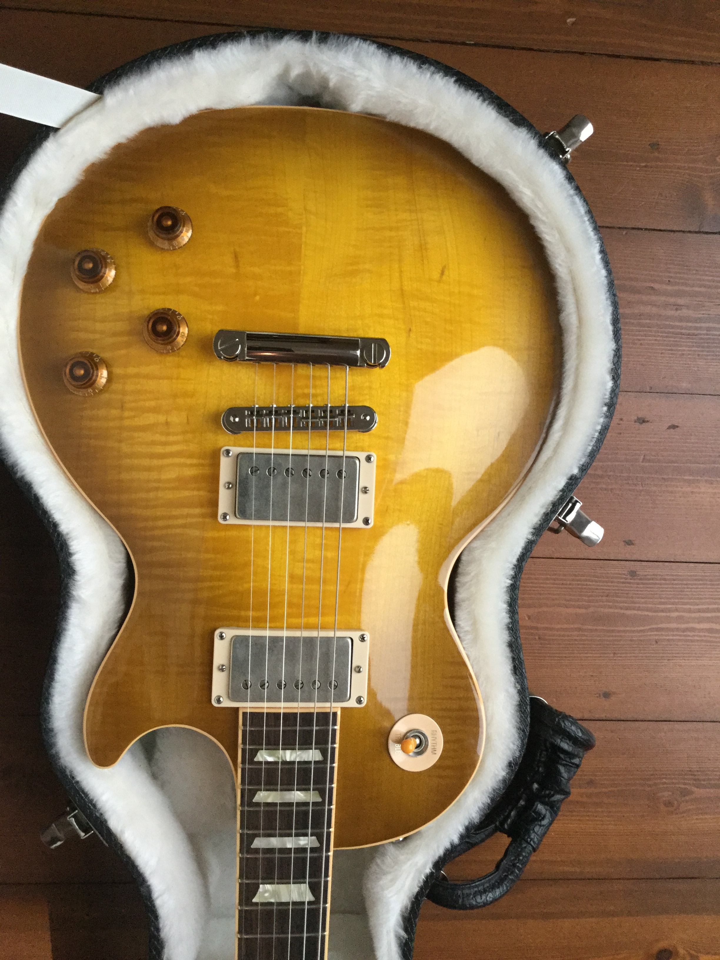 Gibson les paul vintage mahogany review