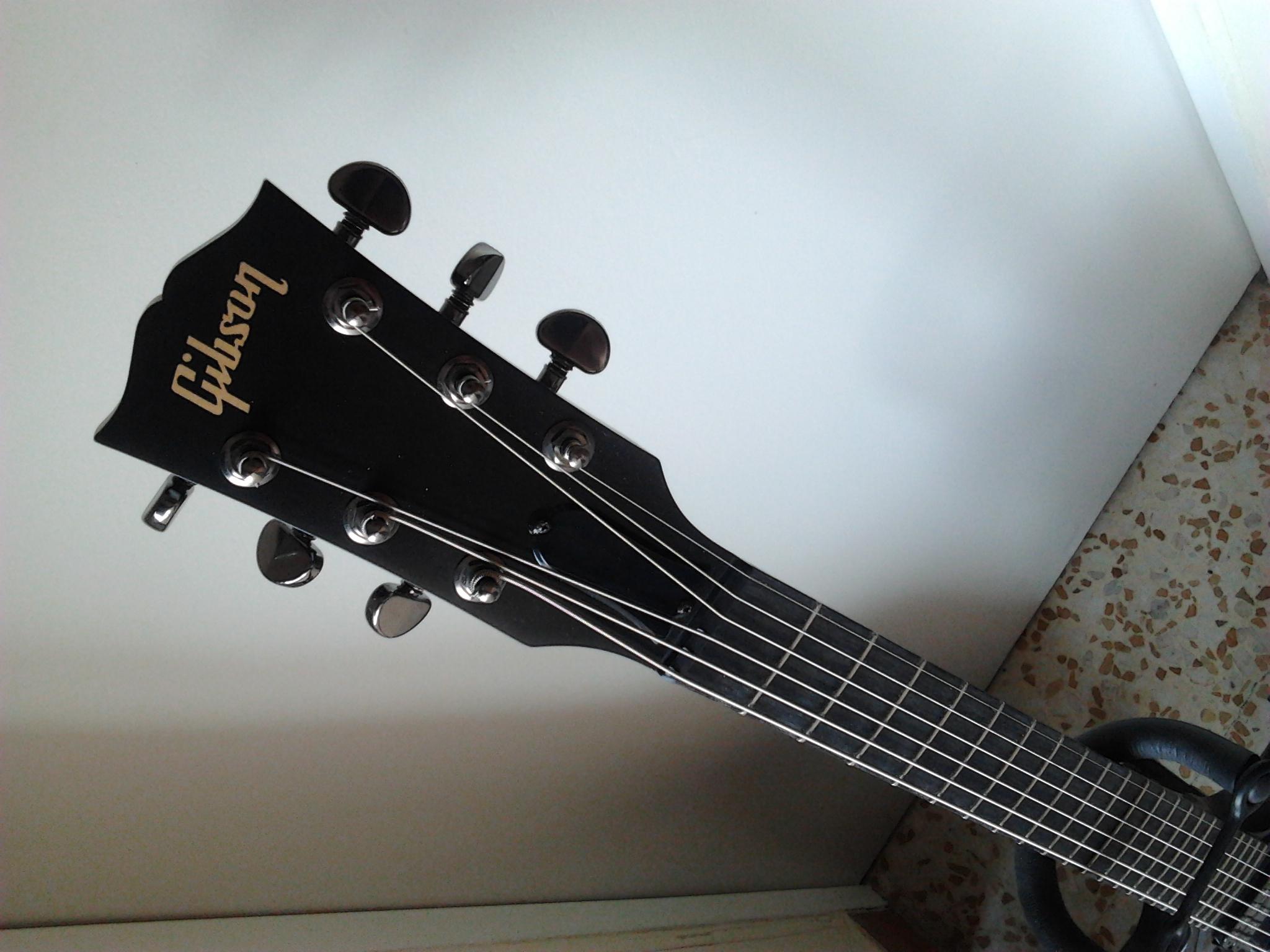 Gibson SG Gothic Morte - Satin Ebon...