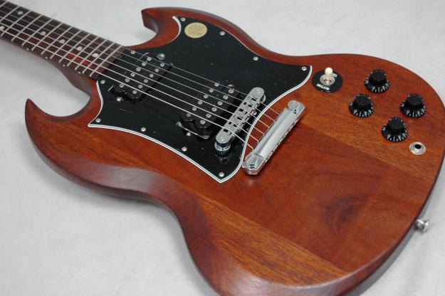 gibson sg special faded worn brown image 379033 audiofanzine. Black Bedroom Furniture Sets. Home Design Ideas