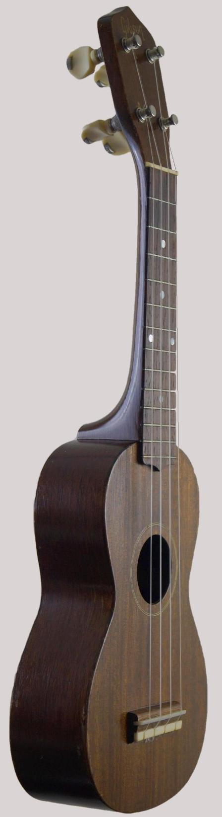 1950's type one war gibson soprano ukulele