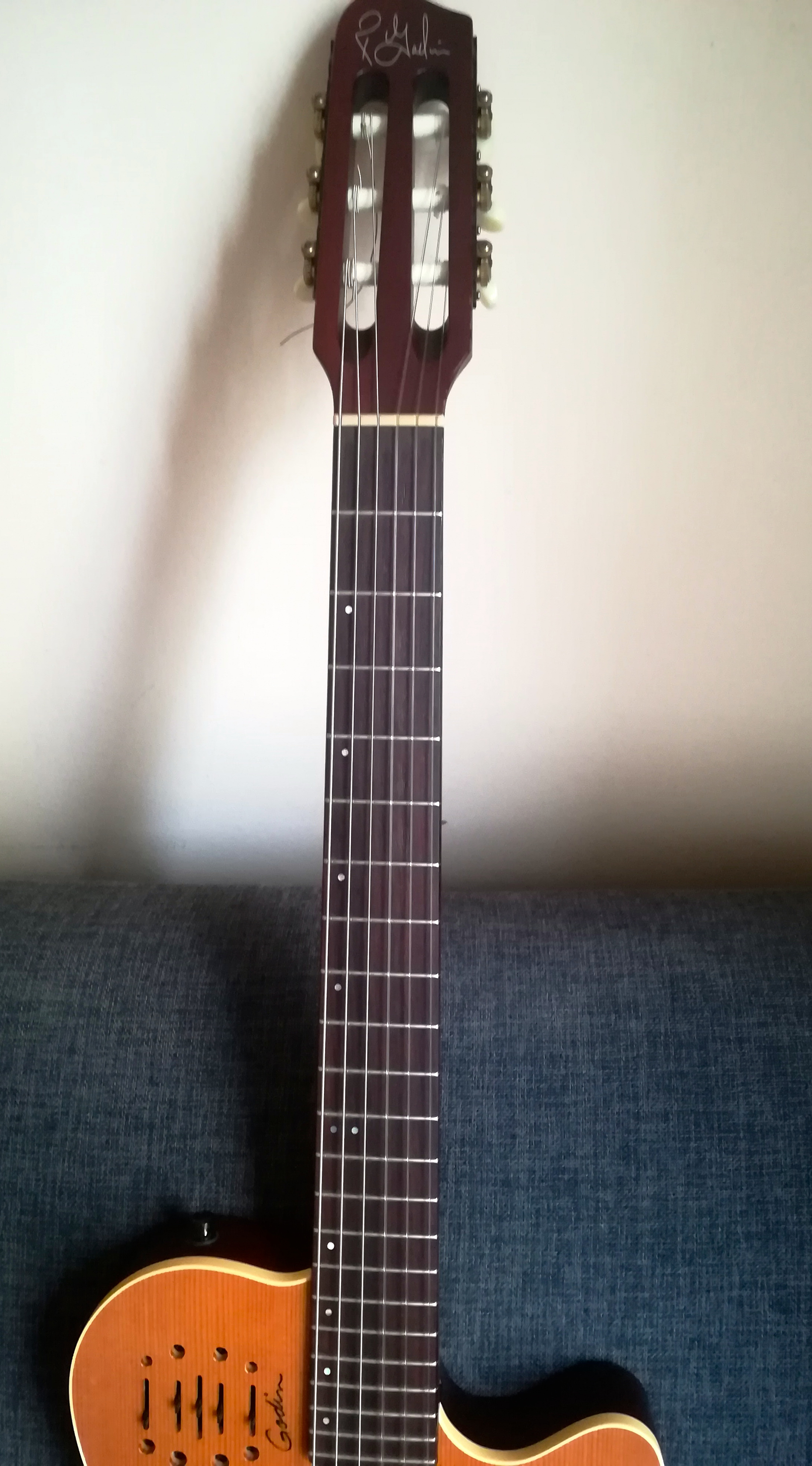 guitare electrique nylon