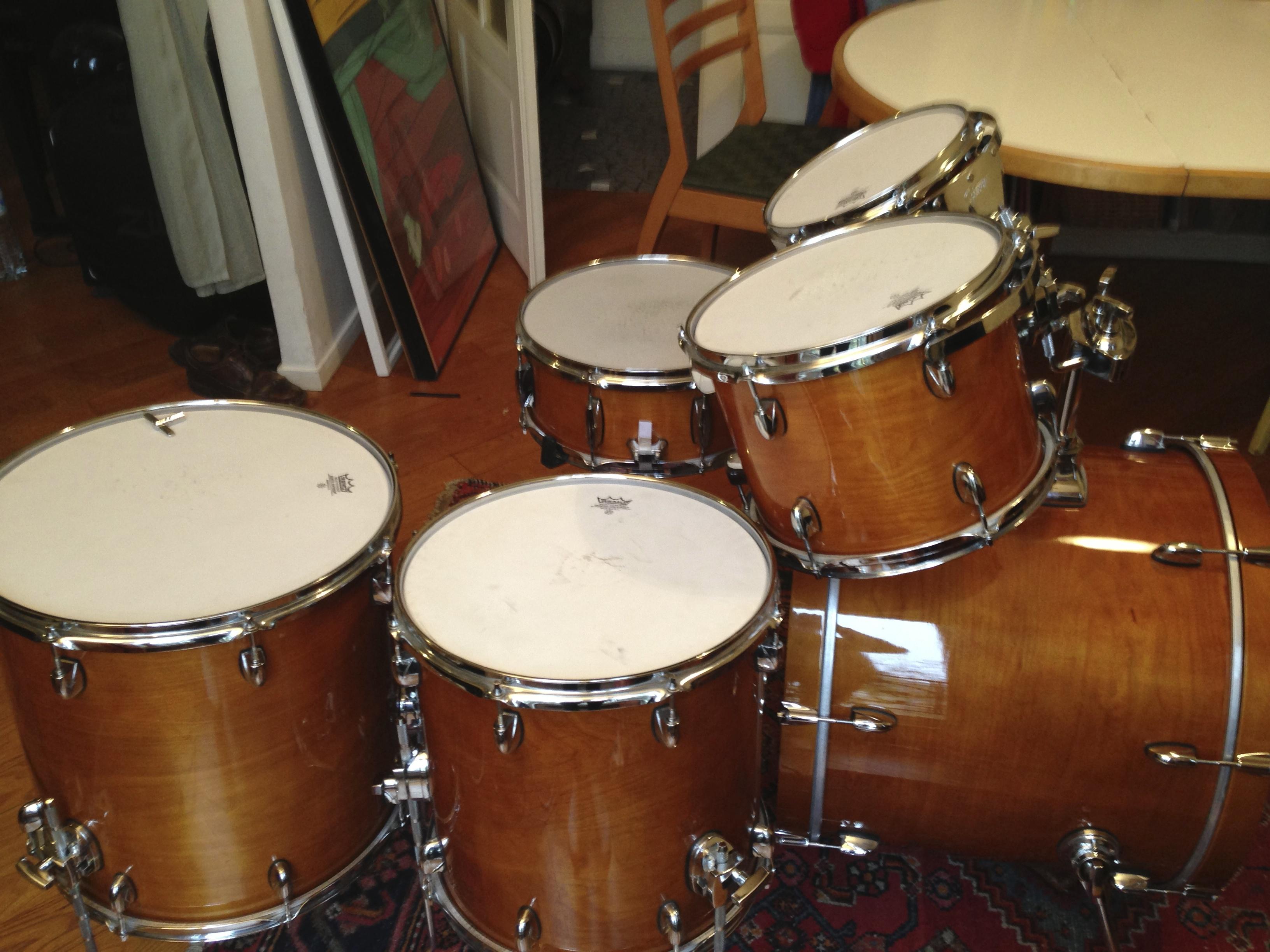 gretsch catalina maple fusion 22 39 39 amber image 601757 audiofanzine. Black Bedroom Furniture Sets. Home Design Ideas