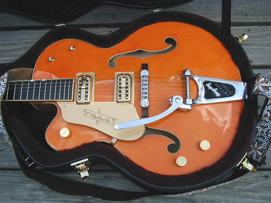 guitare gaucher gretsch