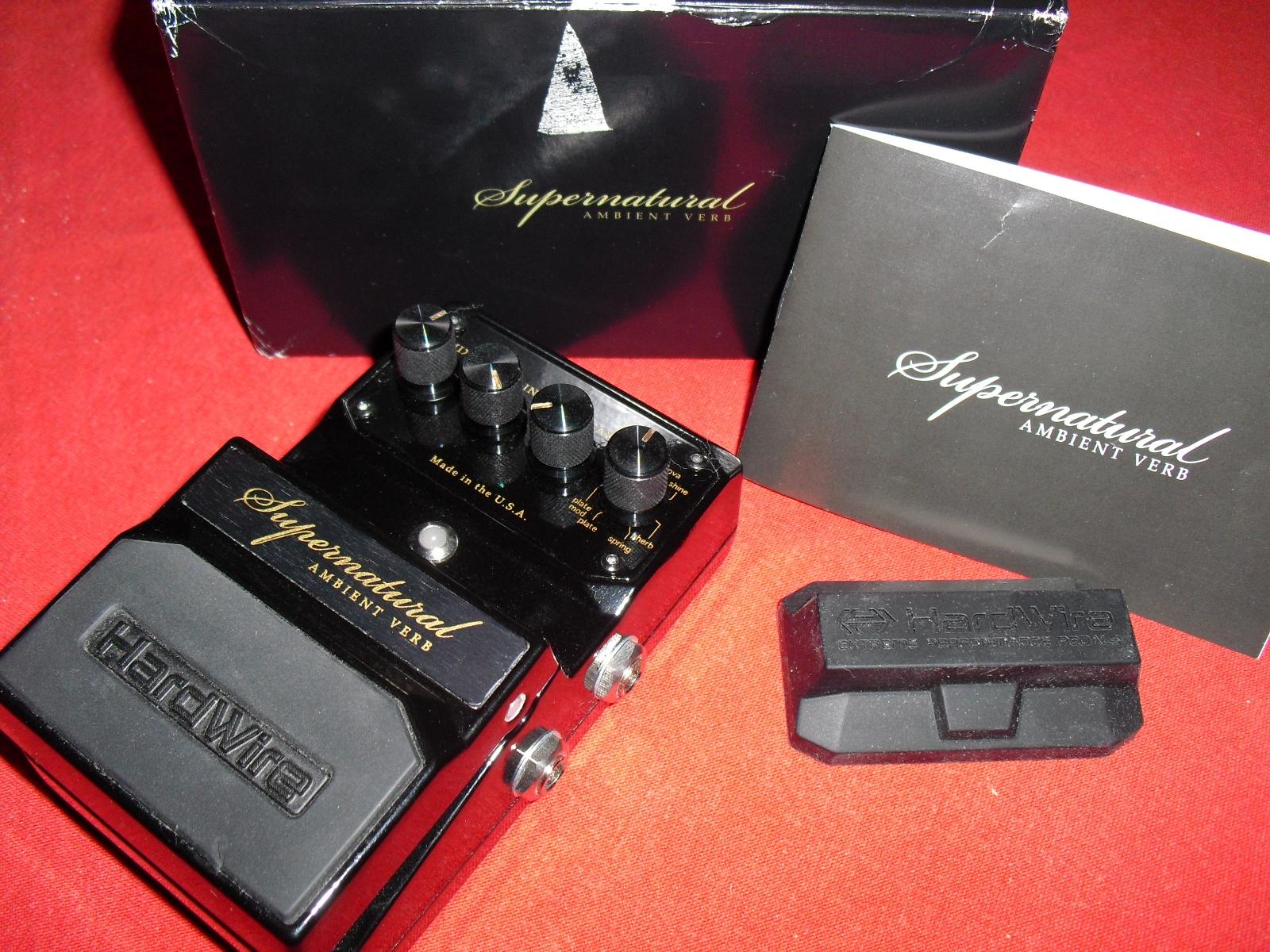 hardwire pedals supernatural ambient verb image 868778 audiofanzine. Black Bedroom Furniture Sets. Home Design Ideas