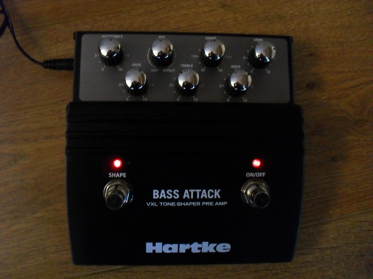hartke vxl bass attack image 127256 audiofanzine. Black Bedroom Furniture Sets. Home Design Ideas
