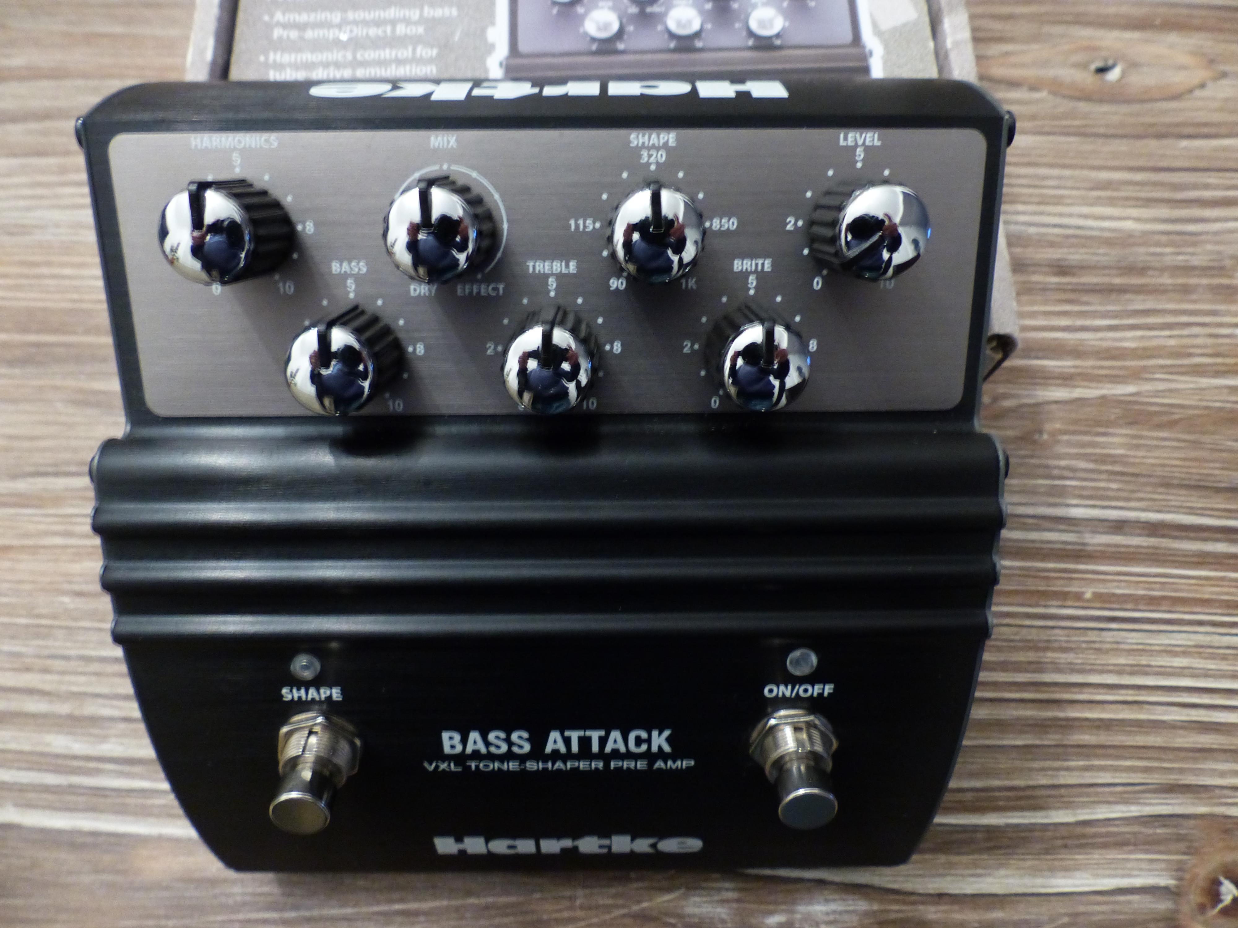 hartke vxl bass attack image 1681079 audiofanzine. Black Bedroom Furniture Sets. Home Design Ideas