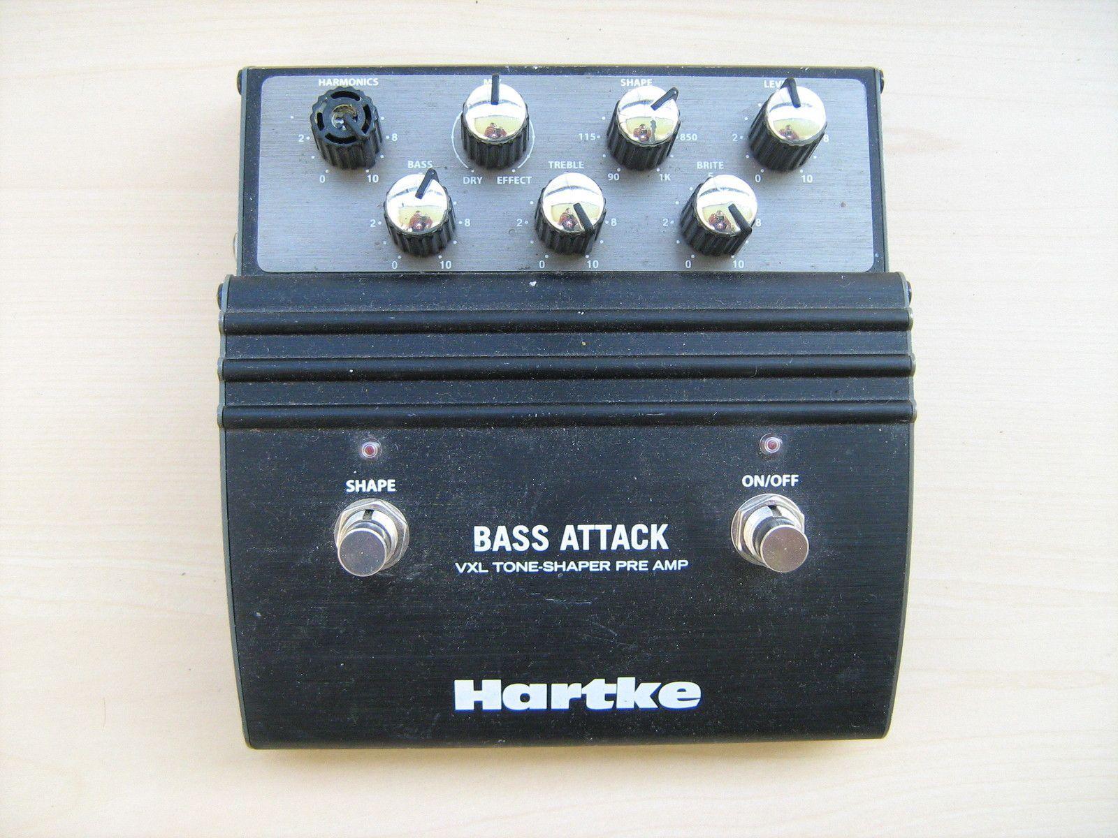 hartke vxl bass attack image 216139 audiofanzine. Black Bedroom Furniture Sets. Home Design Ideas