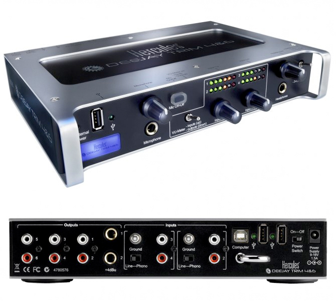 Hercules DJ Trim 4/6 Sound Drivers for Windows Download