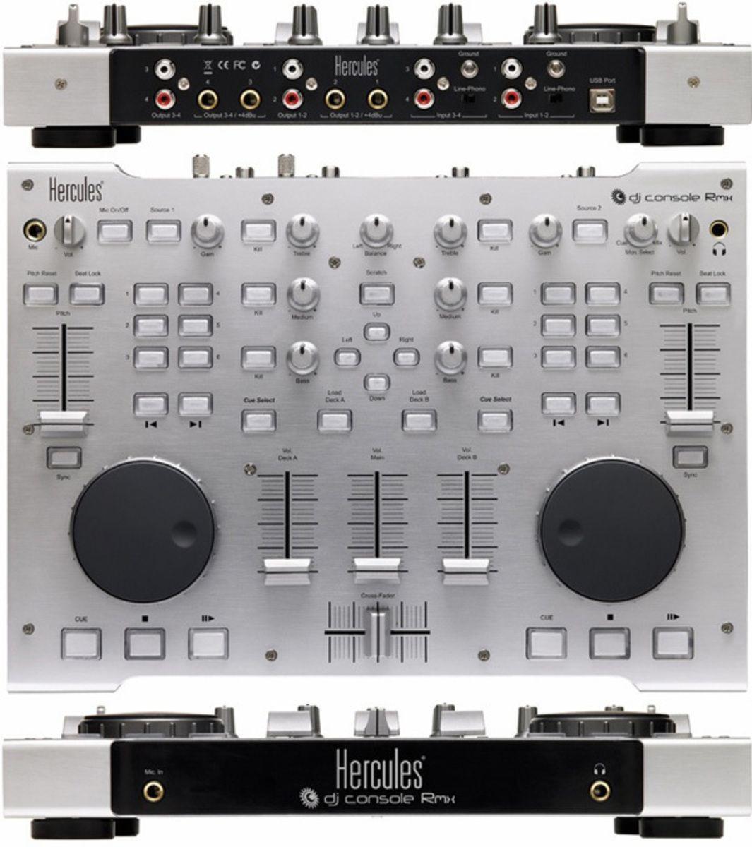 HERCULES DJ CONSOLE RMX REVERB.COM