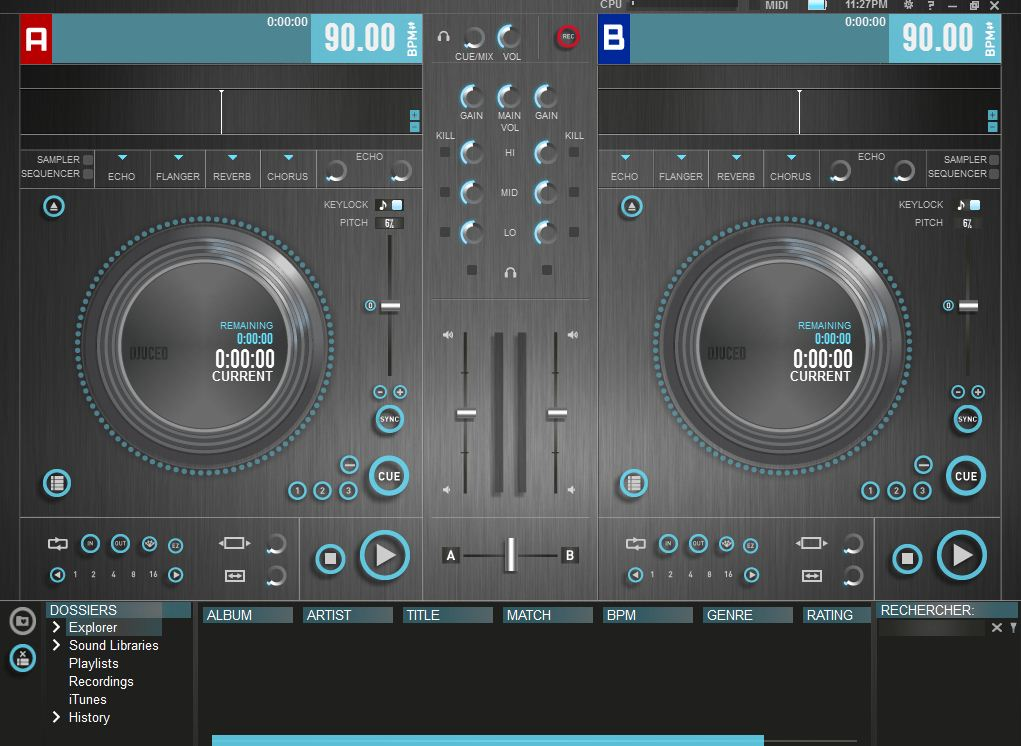 Test de la hercules dj control air il y a du control - Logiciel table de mixage dj gratuit francais ...