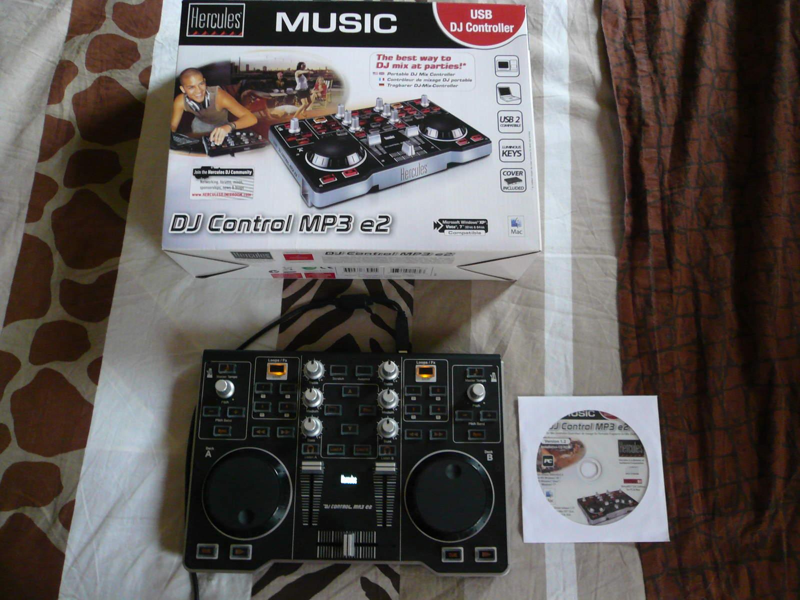 Photo hercules dj control mp3 e2 hercules dj control mp3 - Table de mixage hercules dj control instinct ...