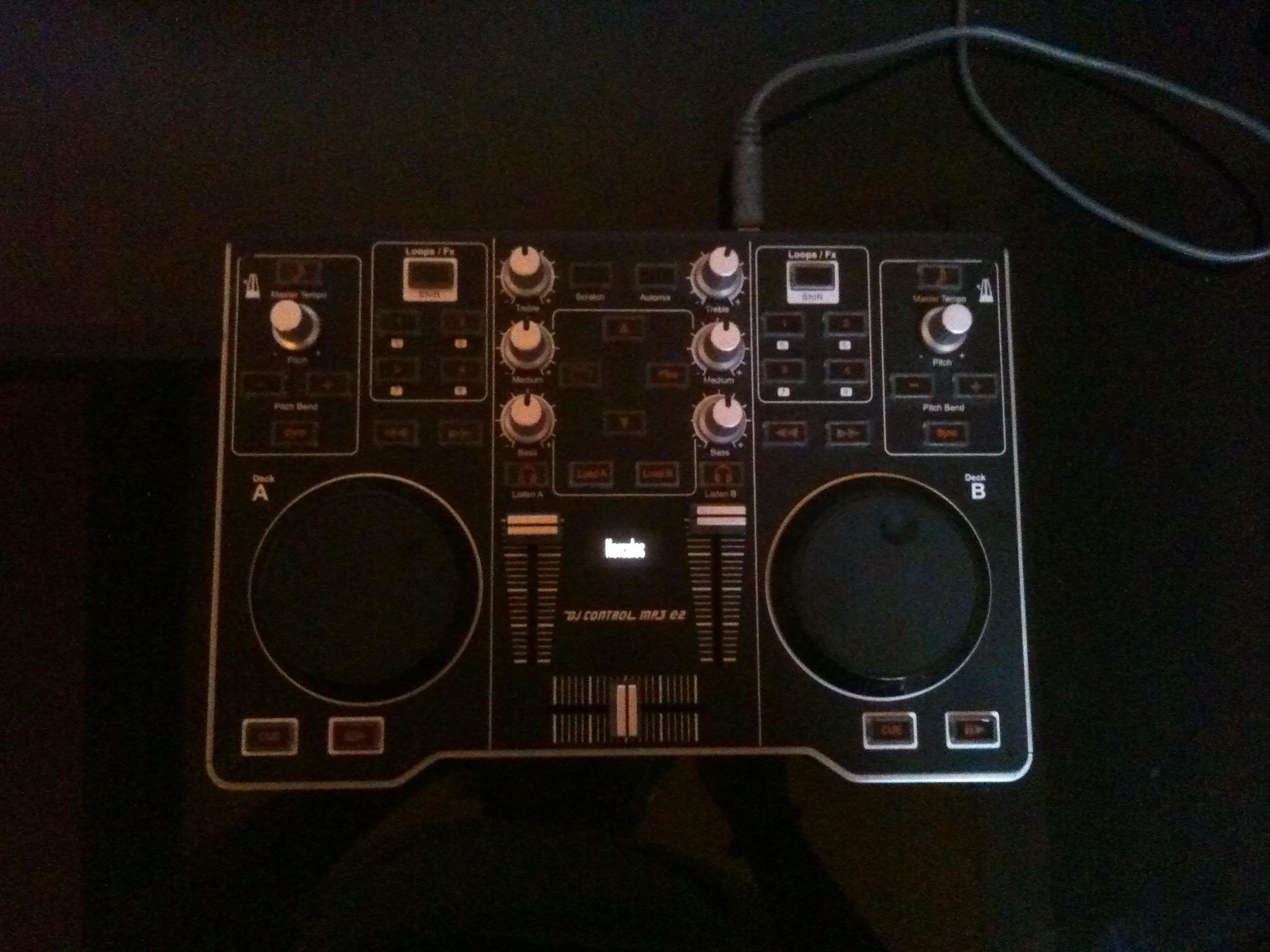 Hercules dj control e2 - Table de mixage hercules dj control mp3 e2 ...