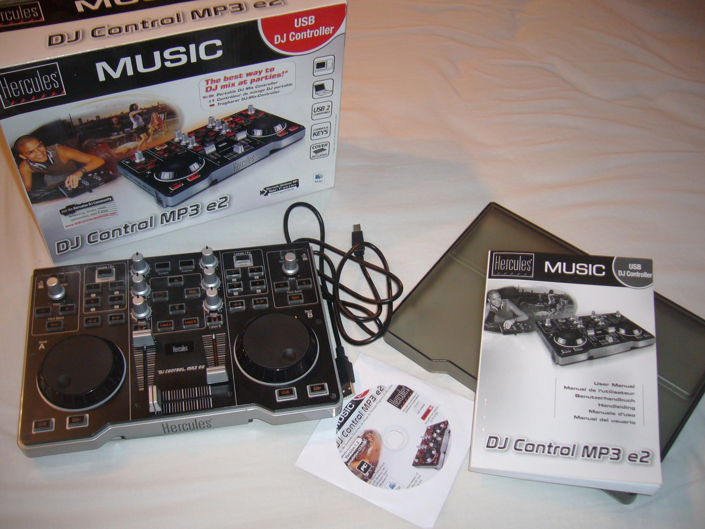 hercules dj control mp3: