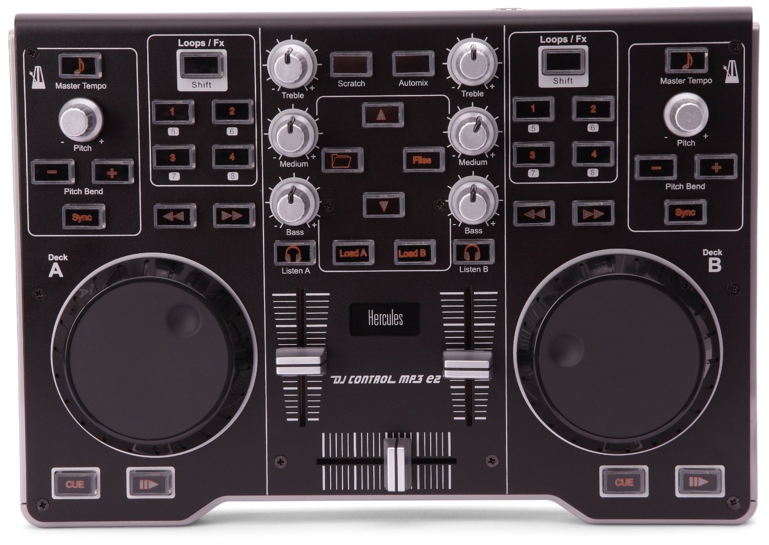 table de mixage hercules dj control mp3 e2