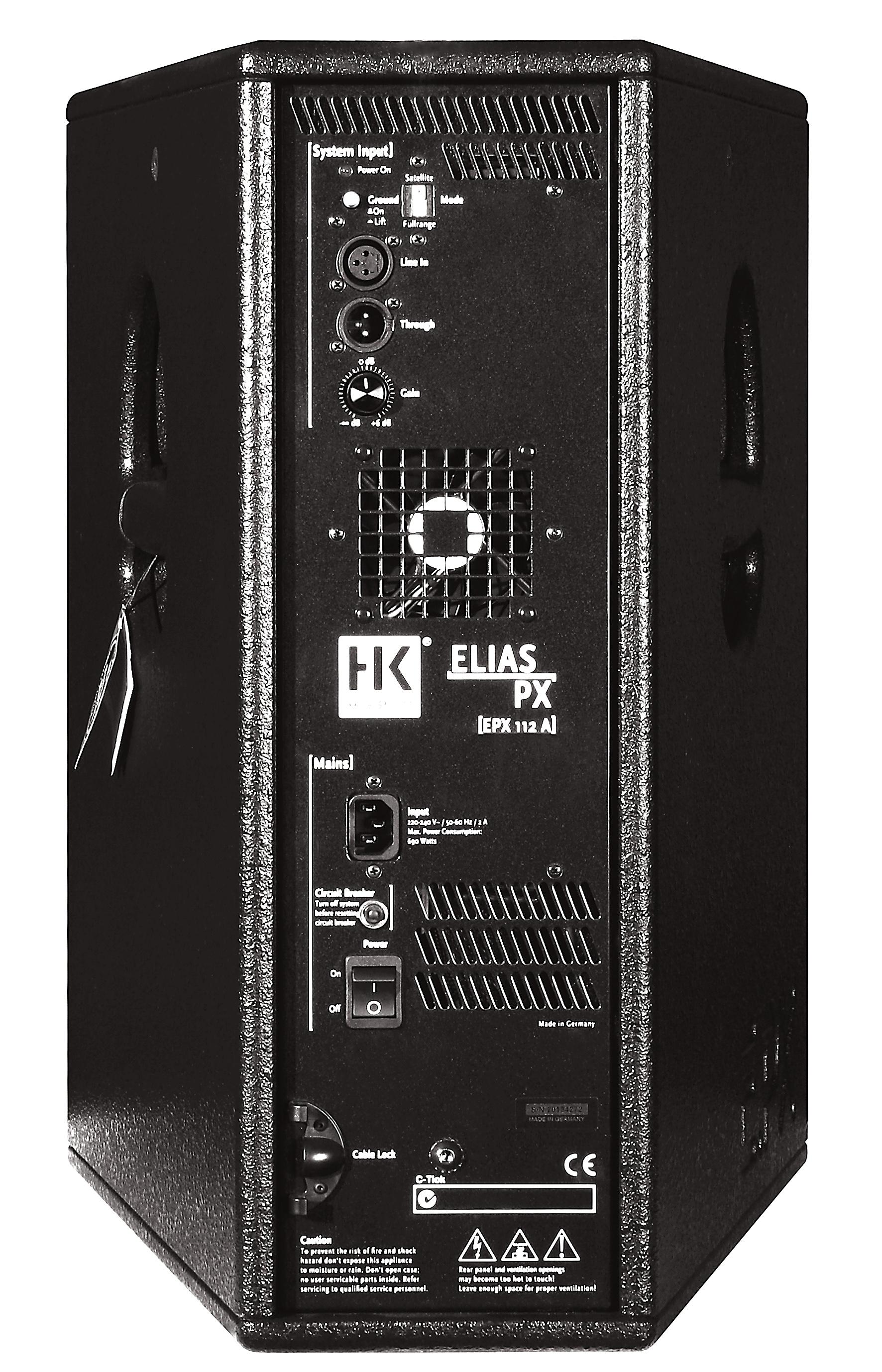 hk audio epx 112 a image 340028 audiofanzine. Black Bedroom Furniture Sets. Home Design Ideas