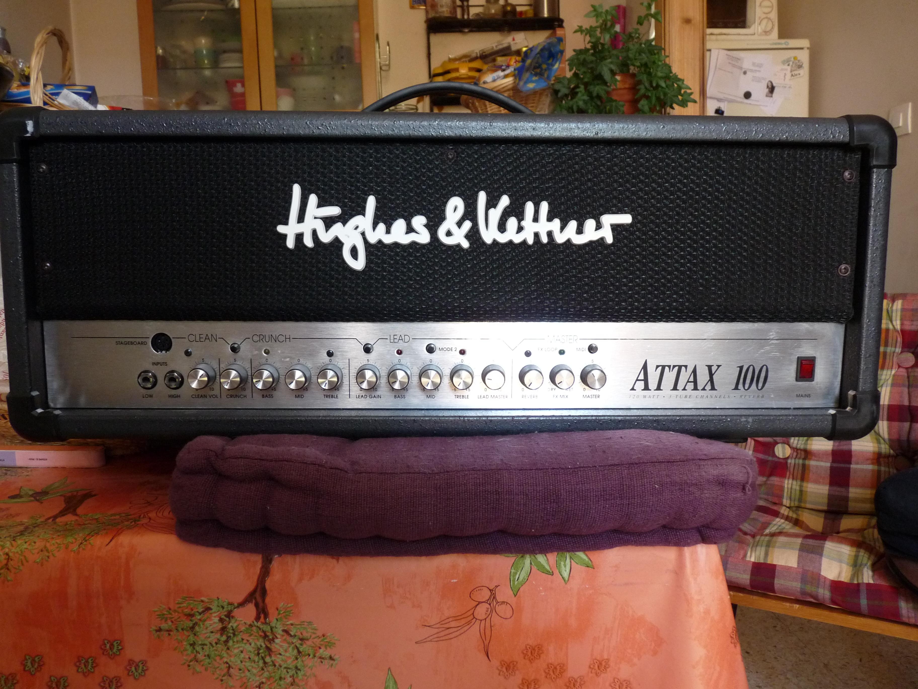 Hughes & Kettner Attax 100 Head image (#276759) - Audiofanzine
