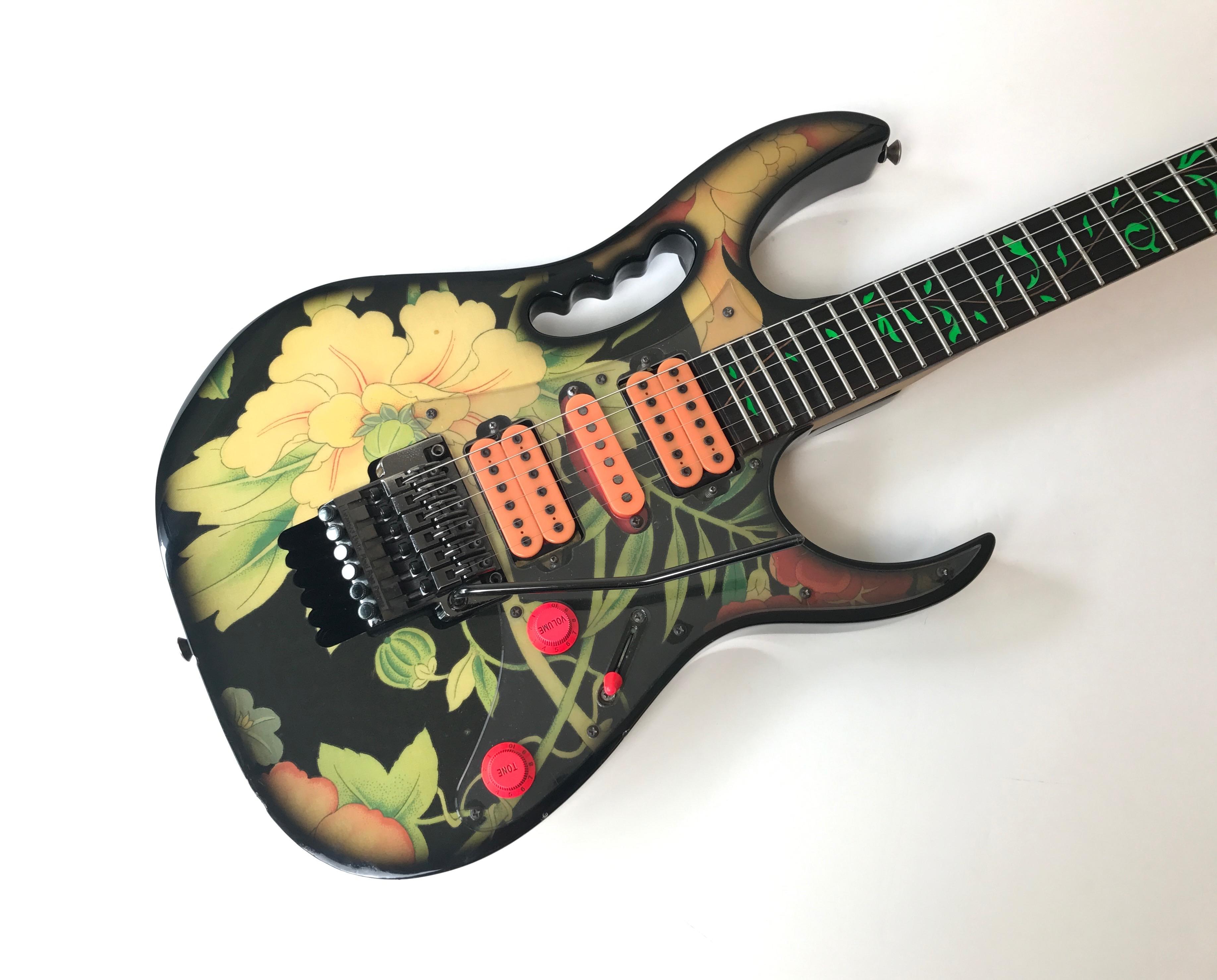 ibanez jem 77 fp 1991 steve vai floral pattern ile de france audiofanzine. Black Bedroom Furniture Sets. Home Design Ideas
