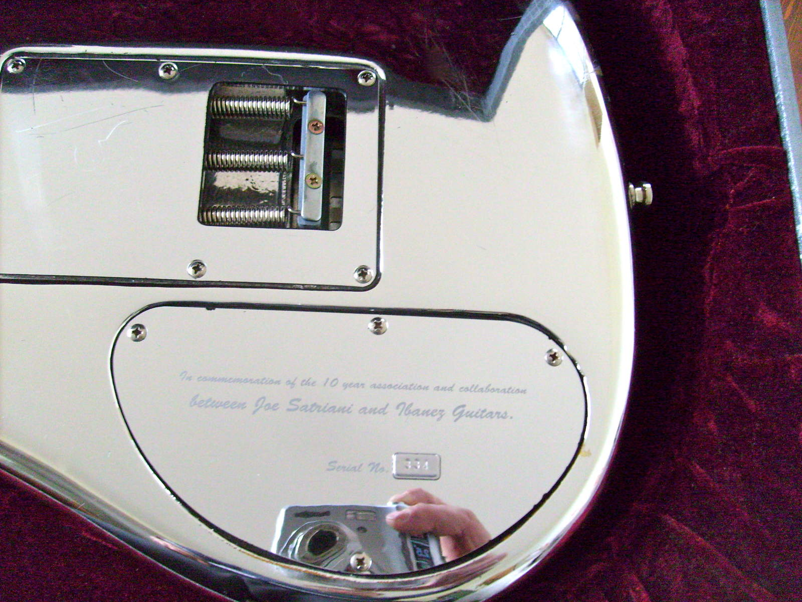 Ibanez Chrome Boy http://en.audiofanzine.com/search/images/chromeboy+ibanez+js++.html