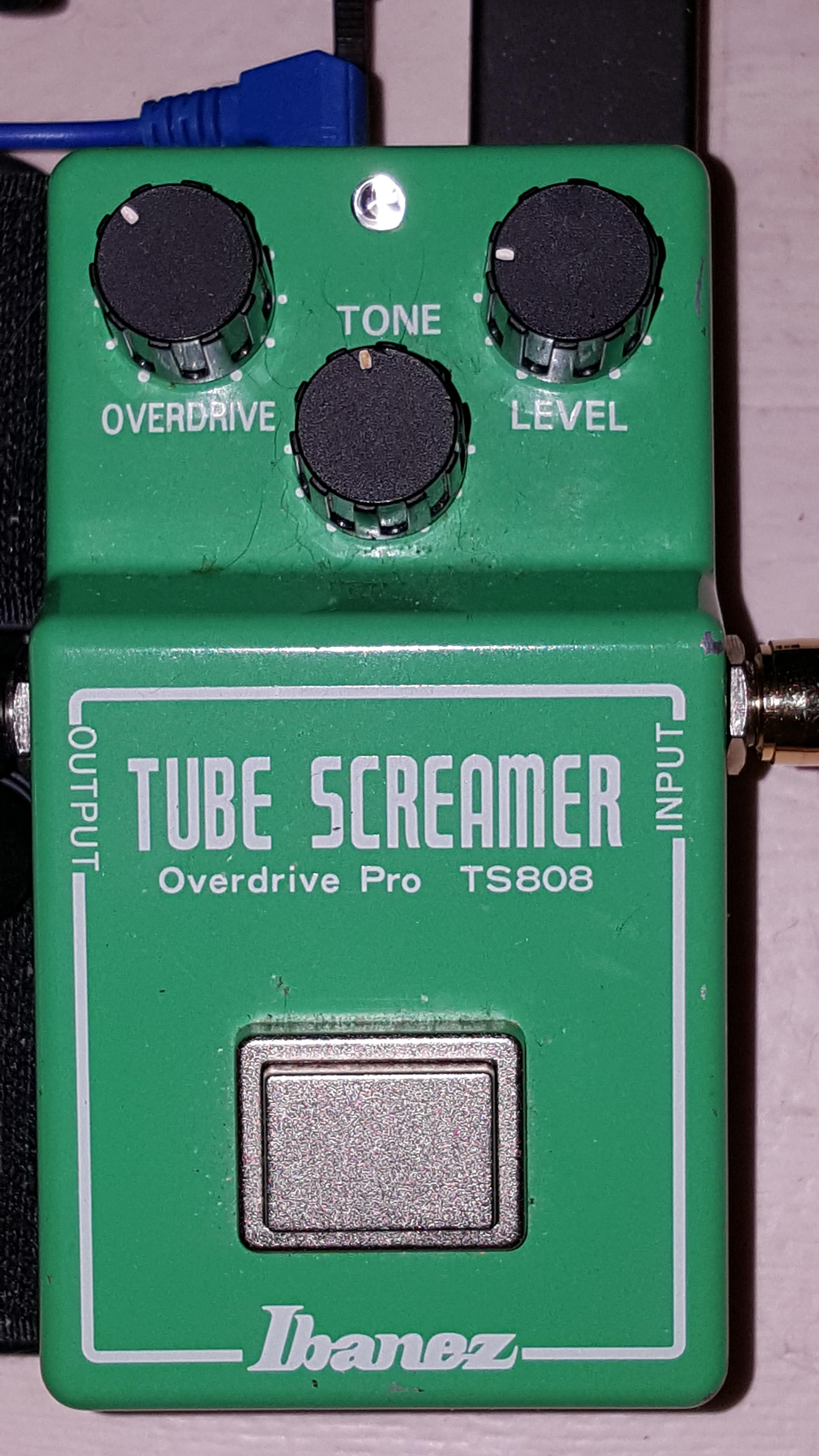 Ibanez Tube screamer Ts808 manual Download