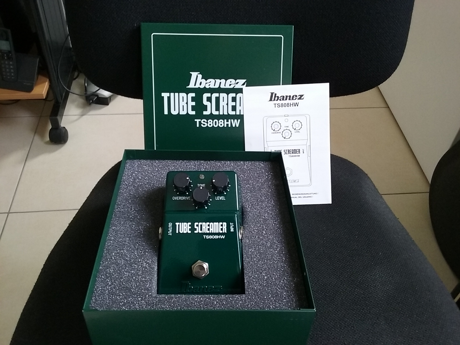 Ibanez Hand Wired Tube Screamer Data Wiring Diagram Ts808 Ts808hw Image 1083434 Audiofanzine Rh En Com Handwired