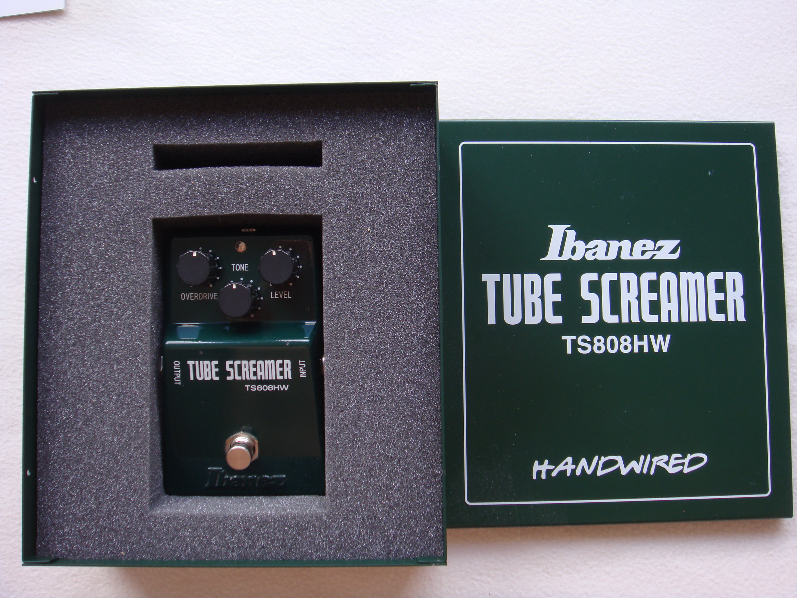 Ibanez Hand Wired Tube Screamer Data Wiring Diagram Linear Ic Tester Circuit Tradeoficcom Ts808hw Image 1478842 Audiofanzine Rh En Com Review